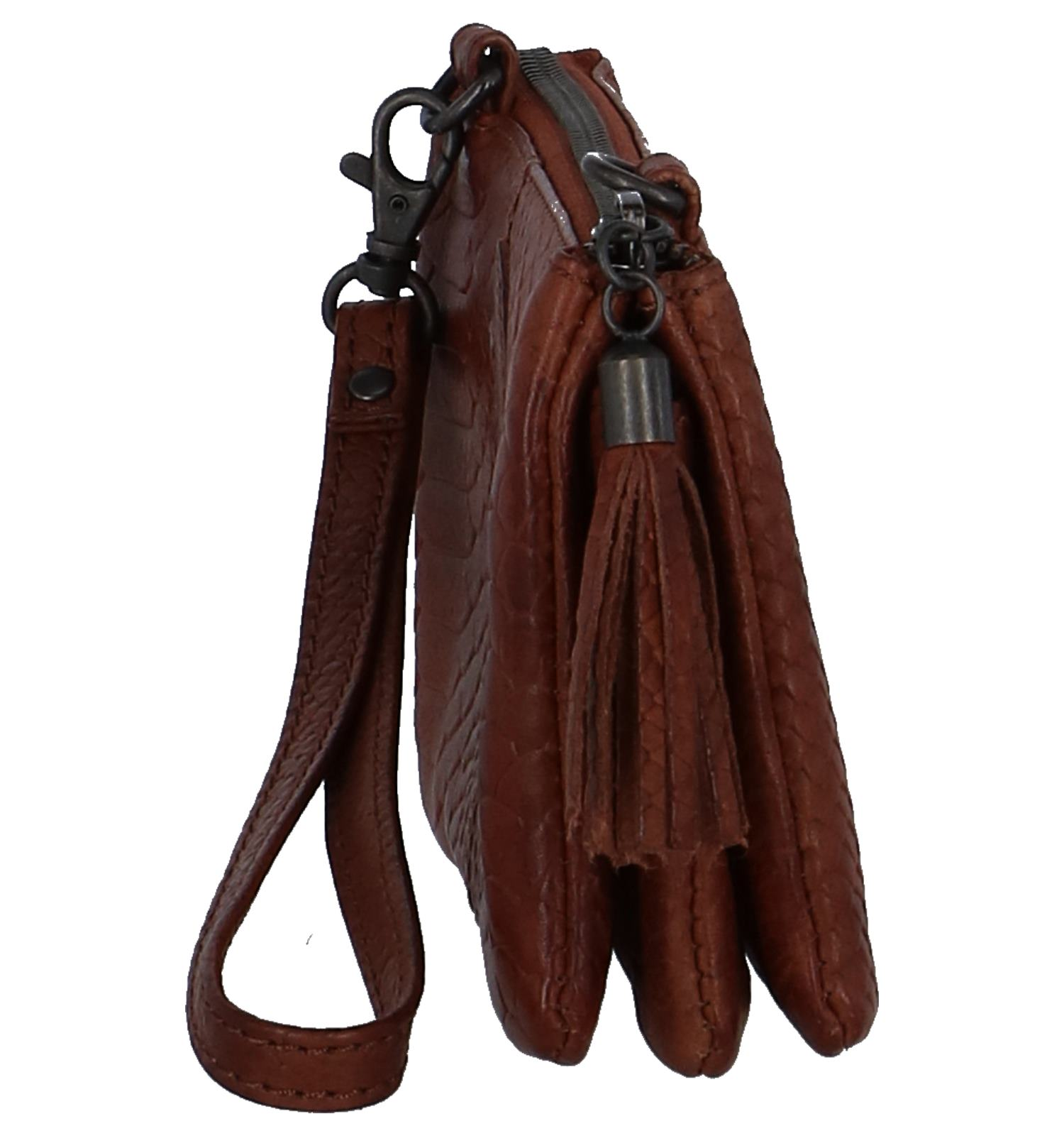 Cognac Design 1493 Crossbody Bear Tas qzSUGMVp