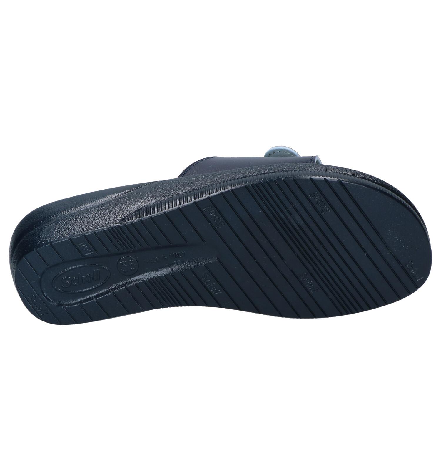 Slippers Scholl New Blauwe Scholl Massage FTl35ucKJ1