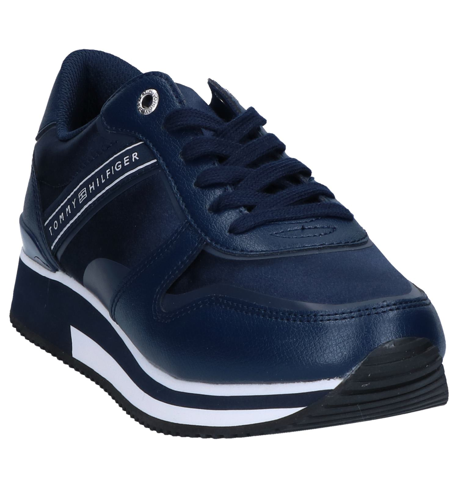 Mixed Sneakers Active Hilfiger City Tommy Blauwe hBxtsrdCQo