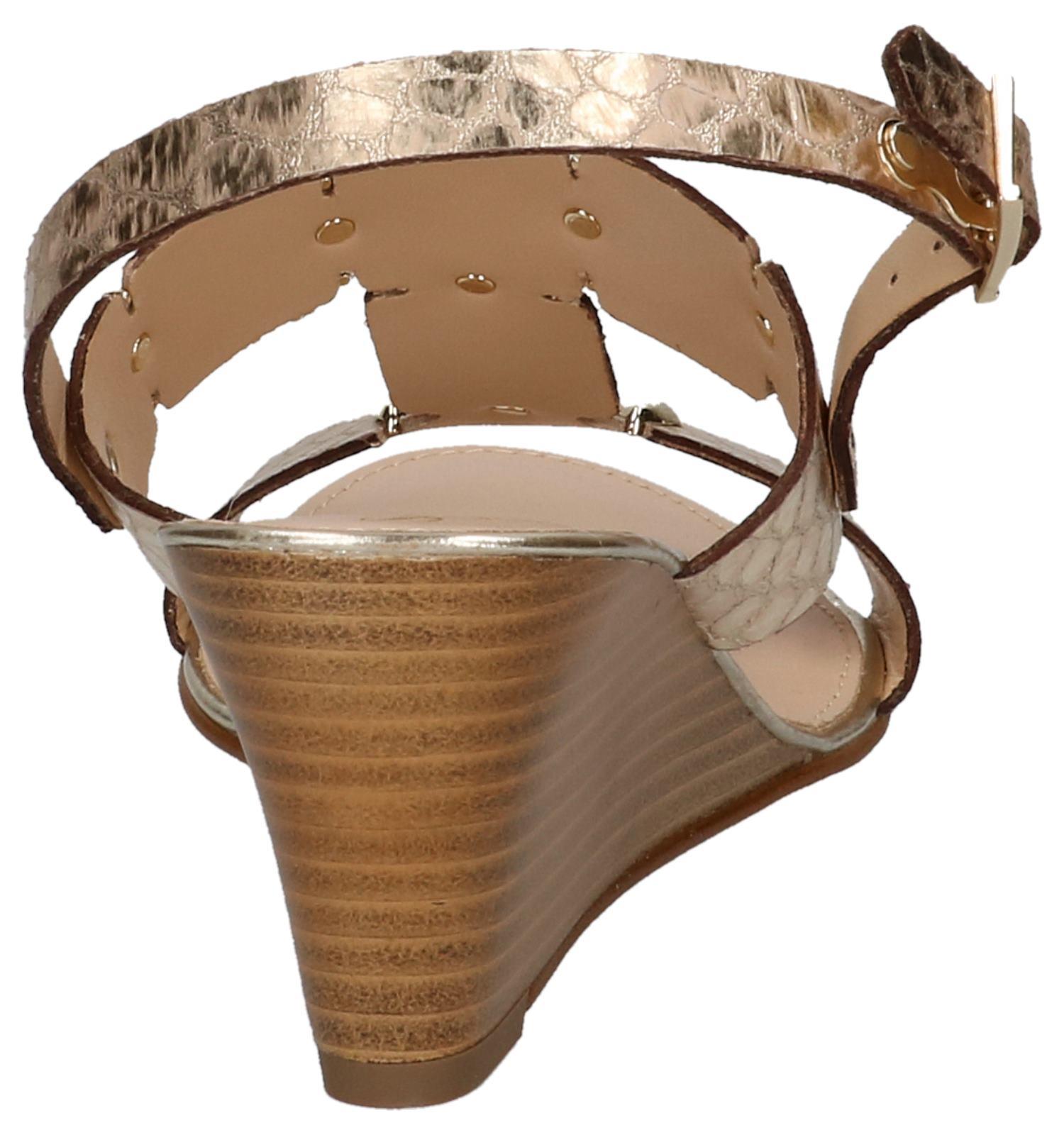 Gouden Sleehak Met Scapa Sleehak Sandalen Met Scapa Sandalen Scapa Gouden Gouden OPTkiXZu