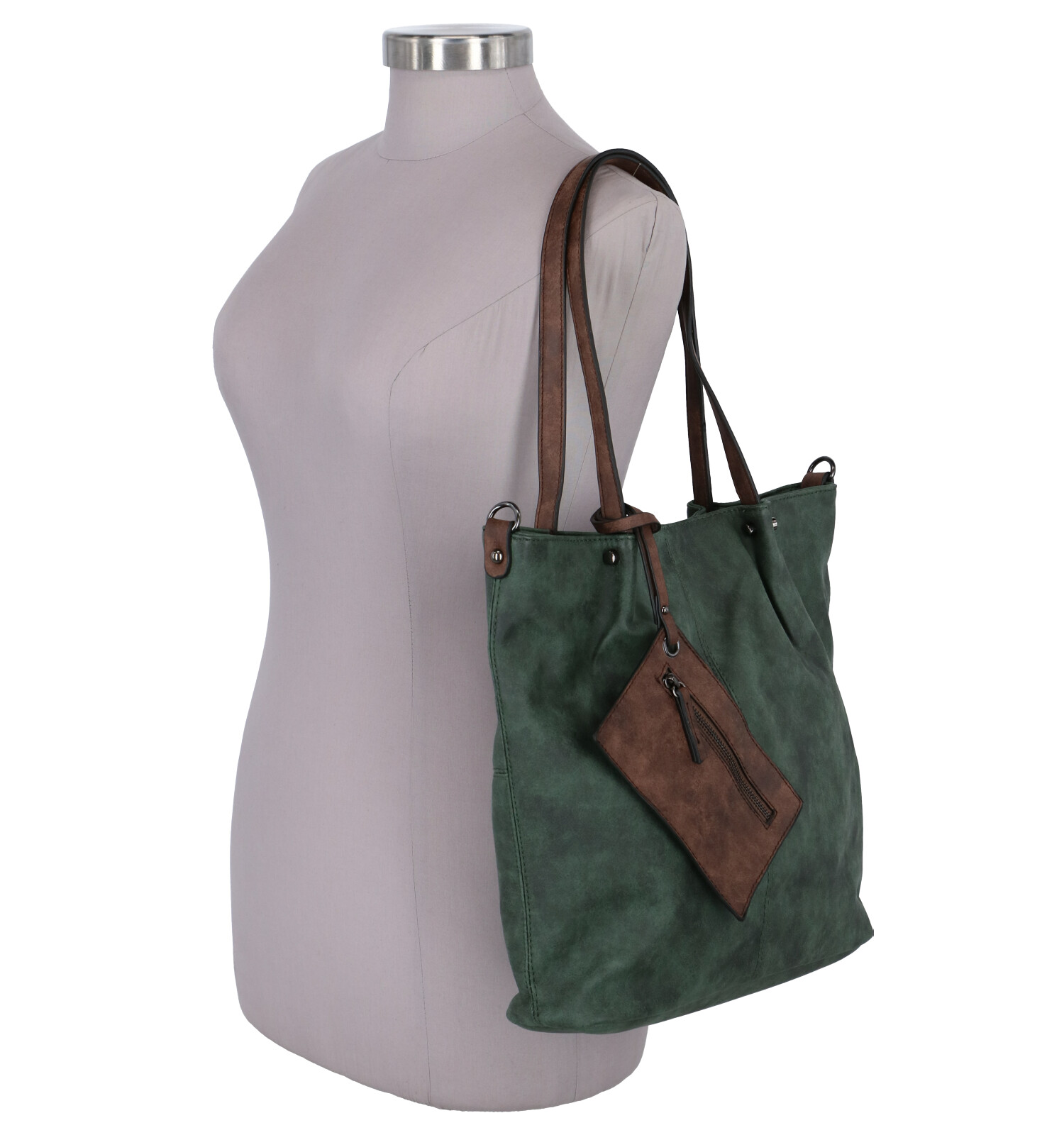 In Donkergroene Emilyamp; Tas Bag Shopper Noah lc15FJKuT3