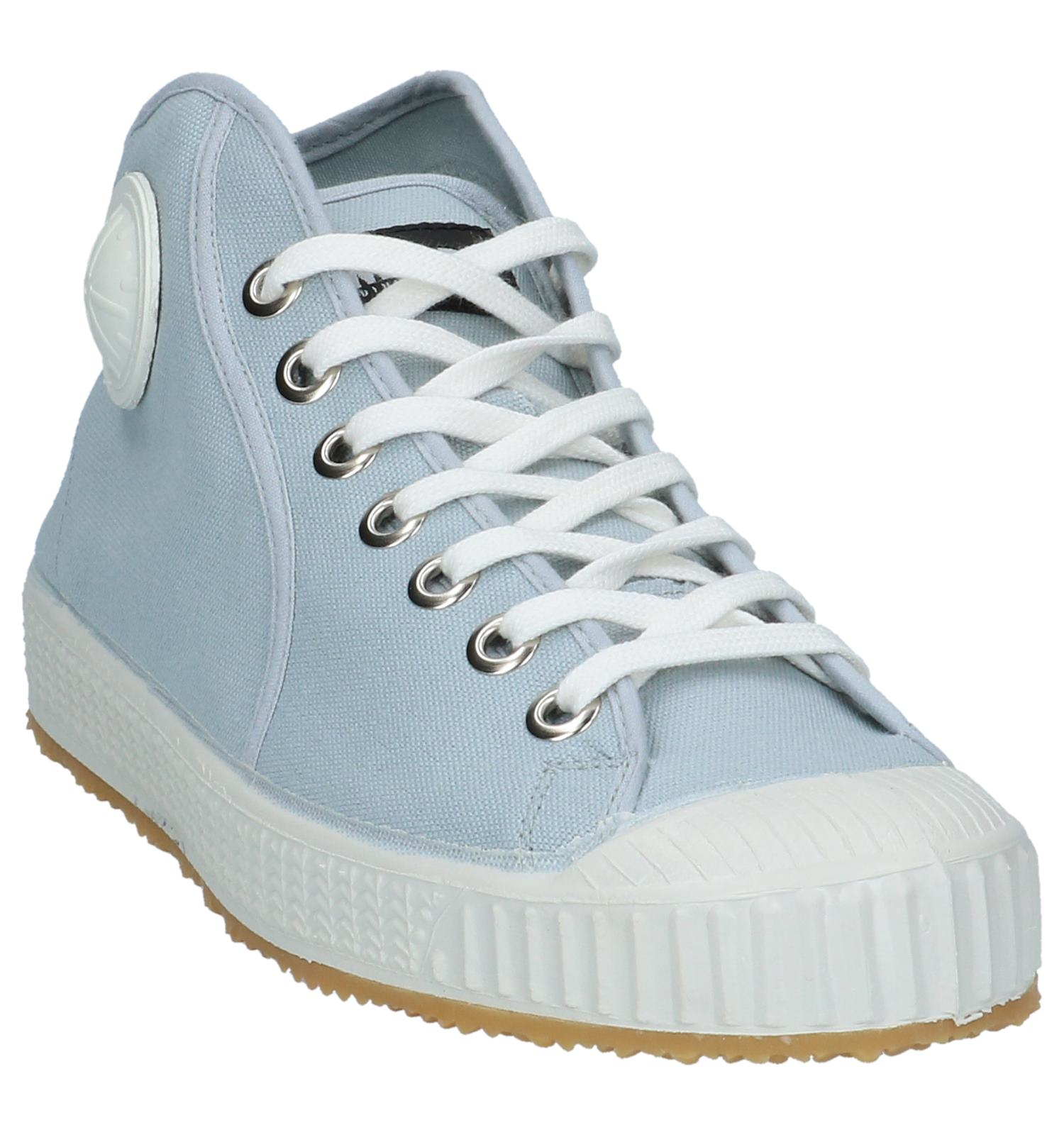 Lichtblauwe Sportieve Komrads Hoge Sneakers Belgrado Ybf7I6vgy