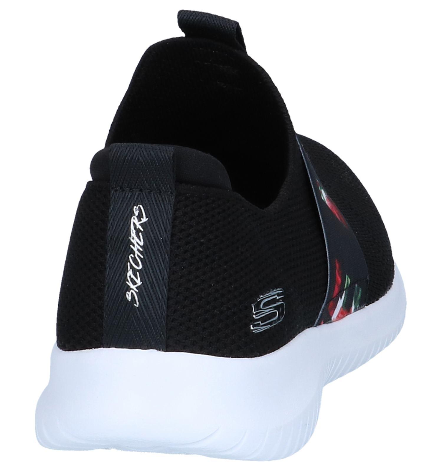 Flex Skechers Zwarte First Love Sneakers Ultra reWQdCxoB