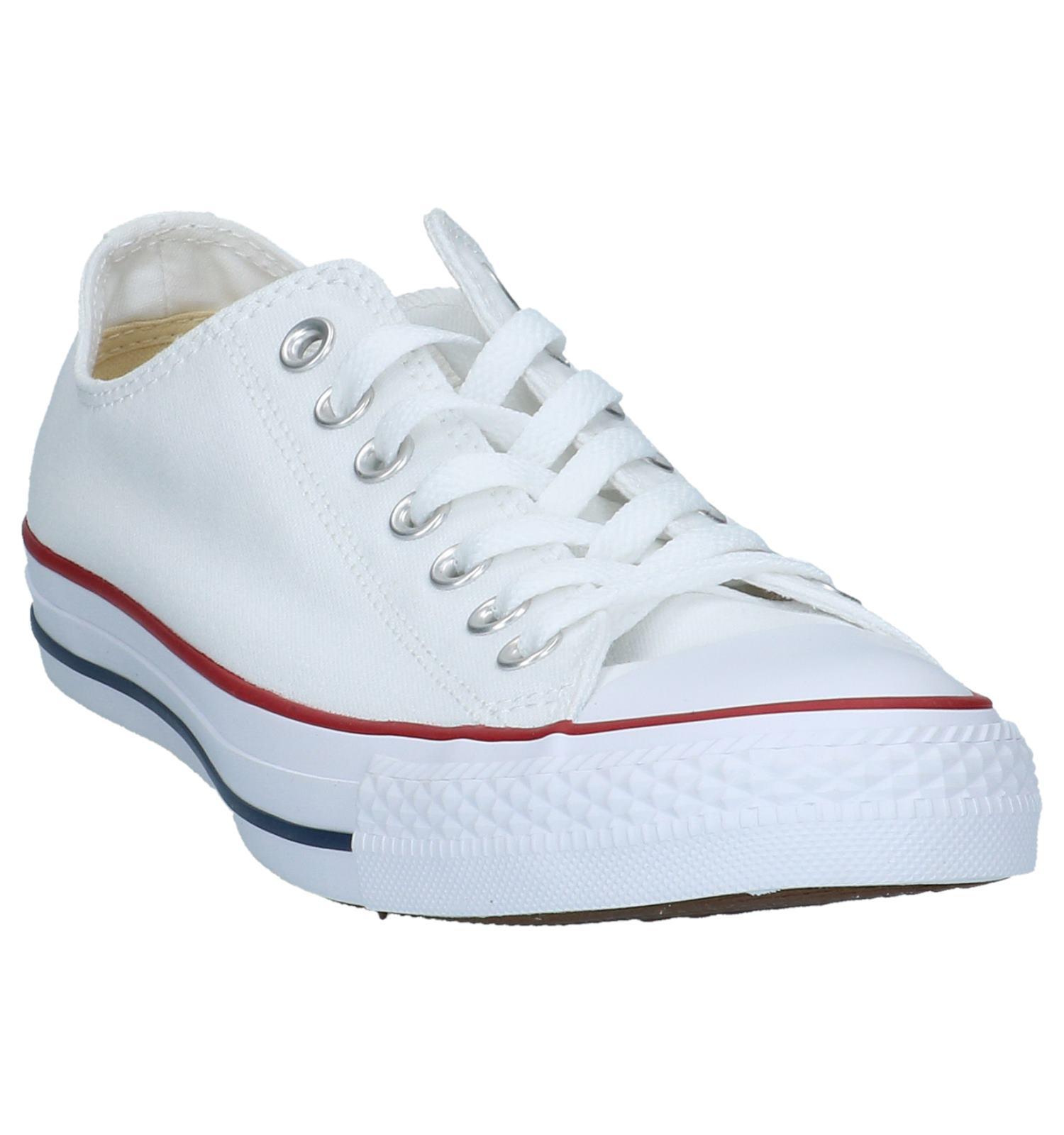 Converse All Star Core OX Witte Sneakers   SCHOENENTORFS.NL