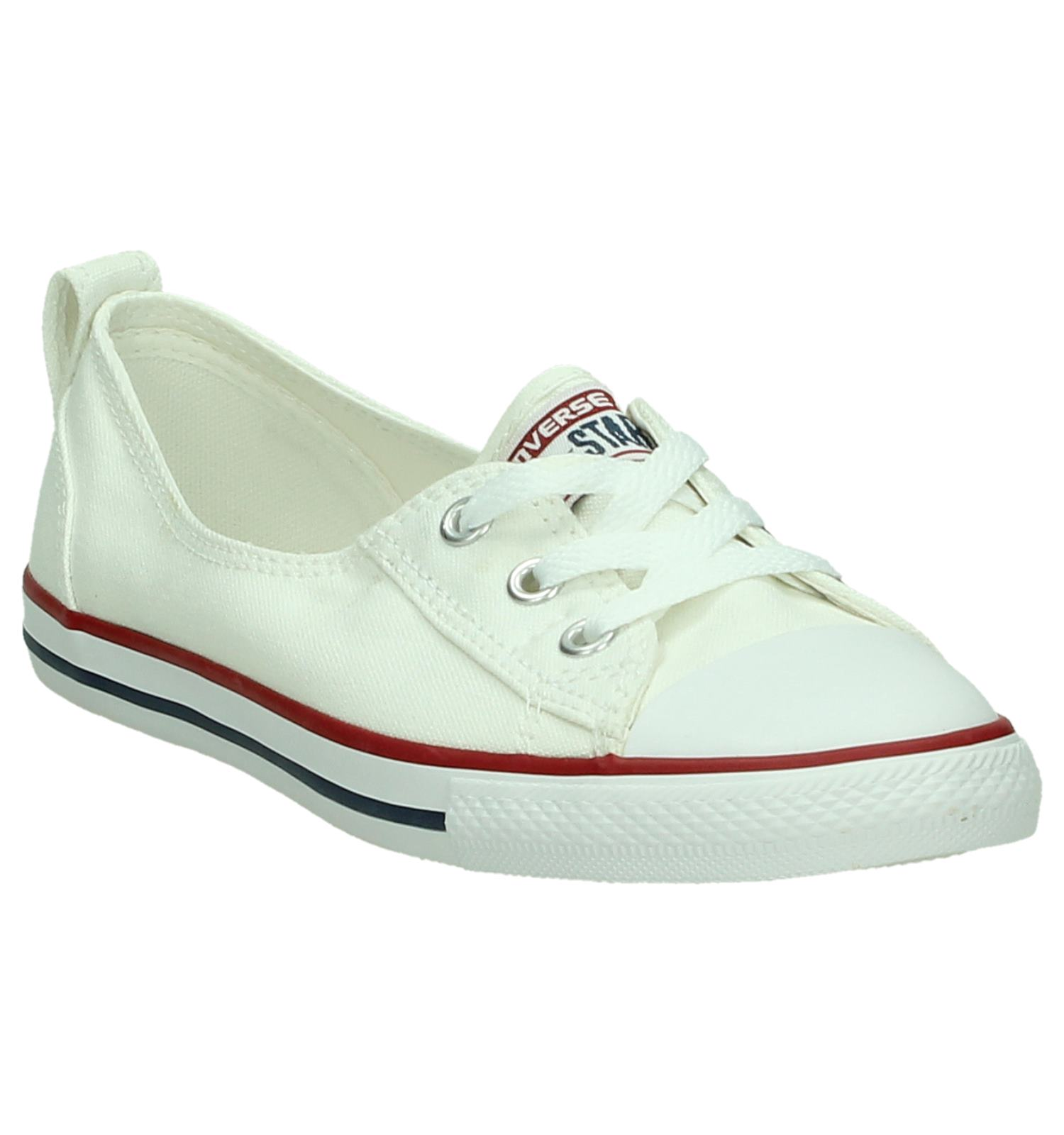 on Witte Ct Ballet All Slip Converse Star Sneakers shtQrdC
