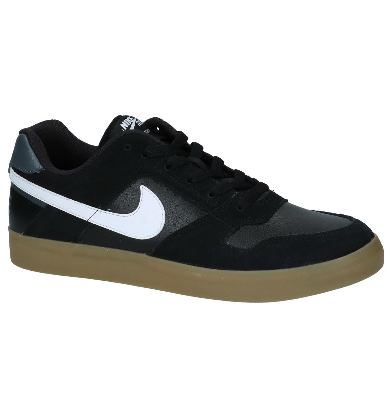 Zwarte Skateschoenen Nike SB Delta Force Vulc   SCHOENENTORFS.NL   Gratis verzend en retour