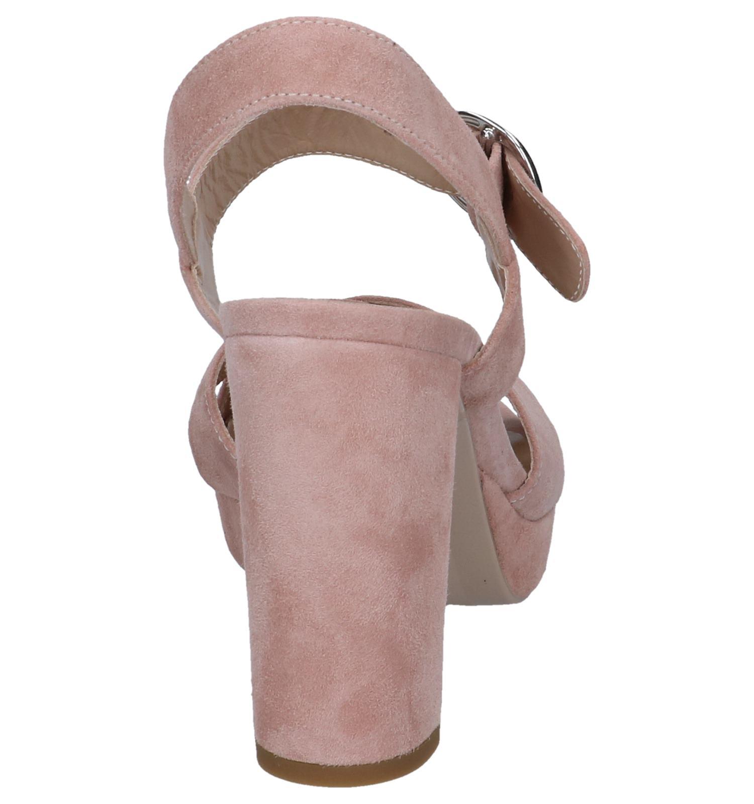 Sandalen High Roze Heel Nerogiardini Kcl1TJF