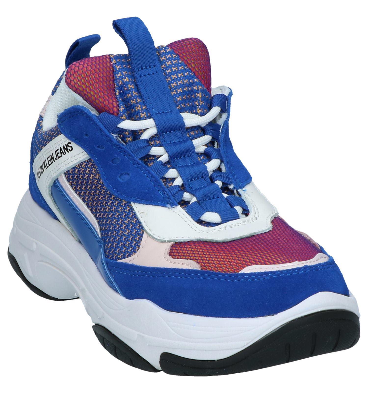 Nineties Calvin Klein Blauwe Sneakers Maya dQtshrC