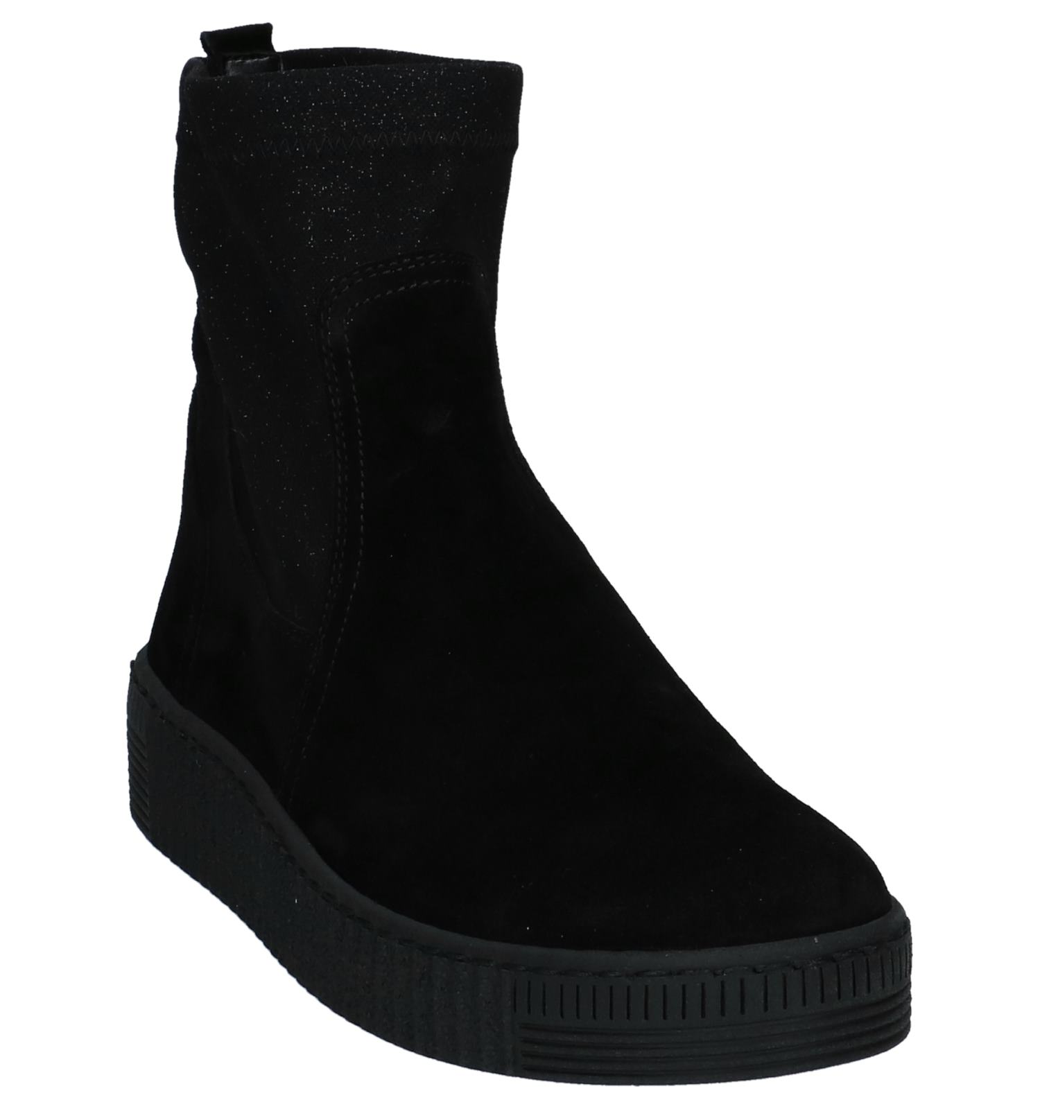 Glitter Met Zwarte Gabor Geklede Fitting Boots Best vyNnP8Om0w