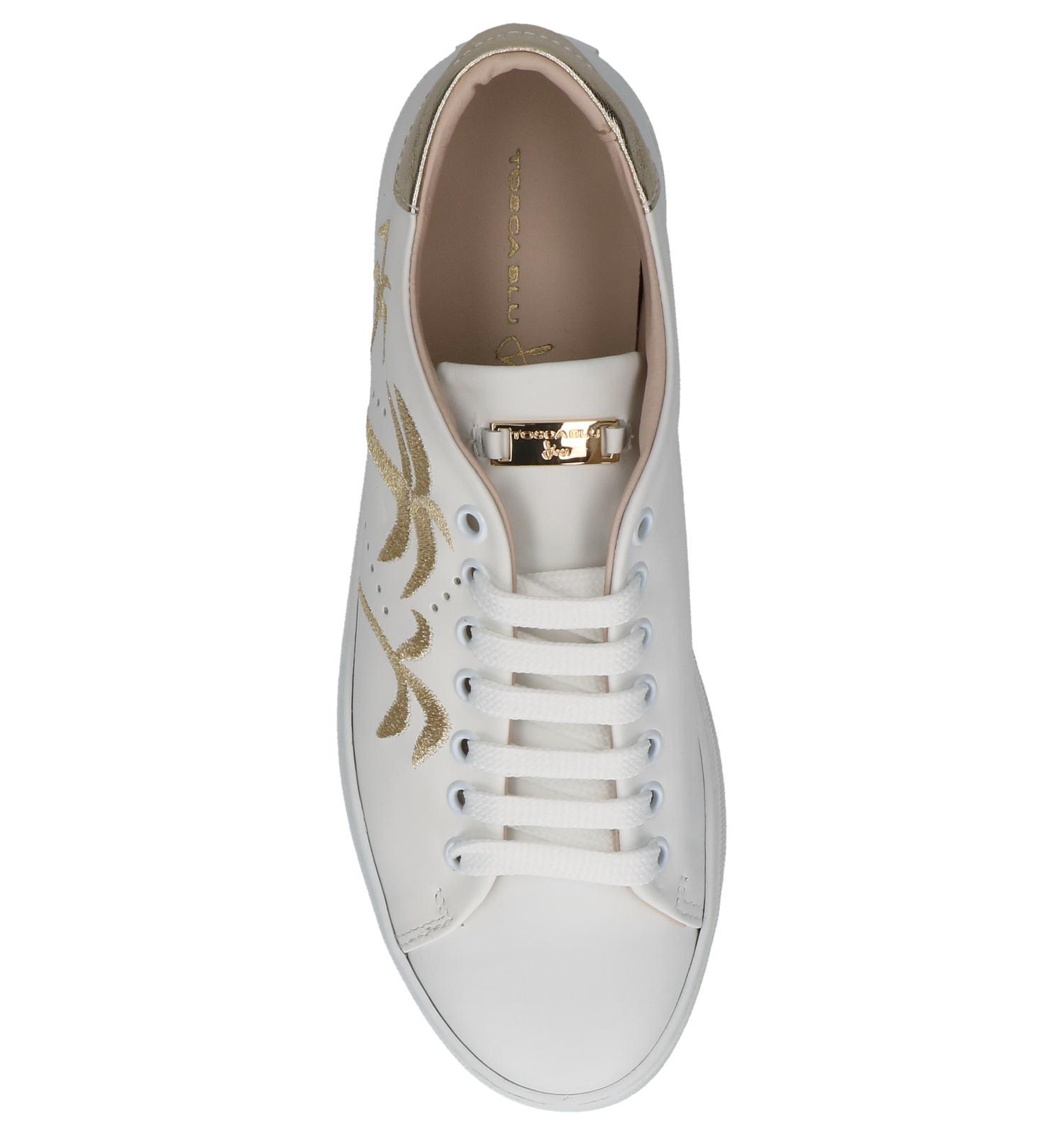 Geklede Sneakers Tosca Blu Wit | SCHOENENTORFS.NL | Gratis