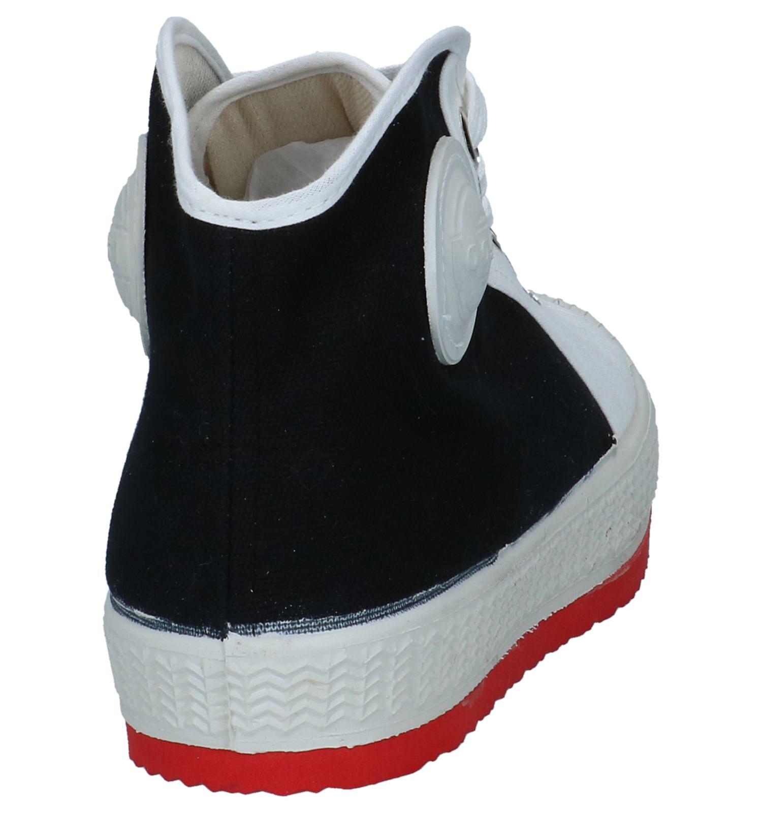 0051 witte Anton Hoge Zwart Sneakers UzMpGSVqL