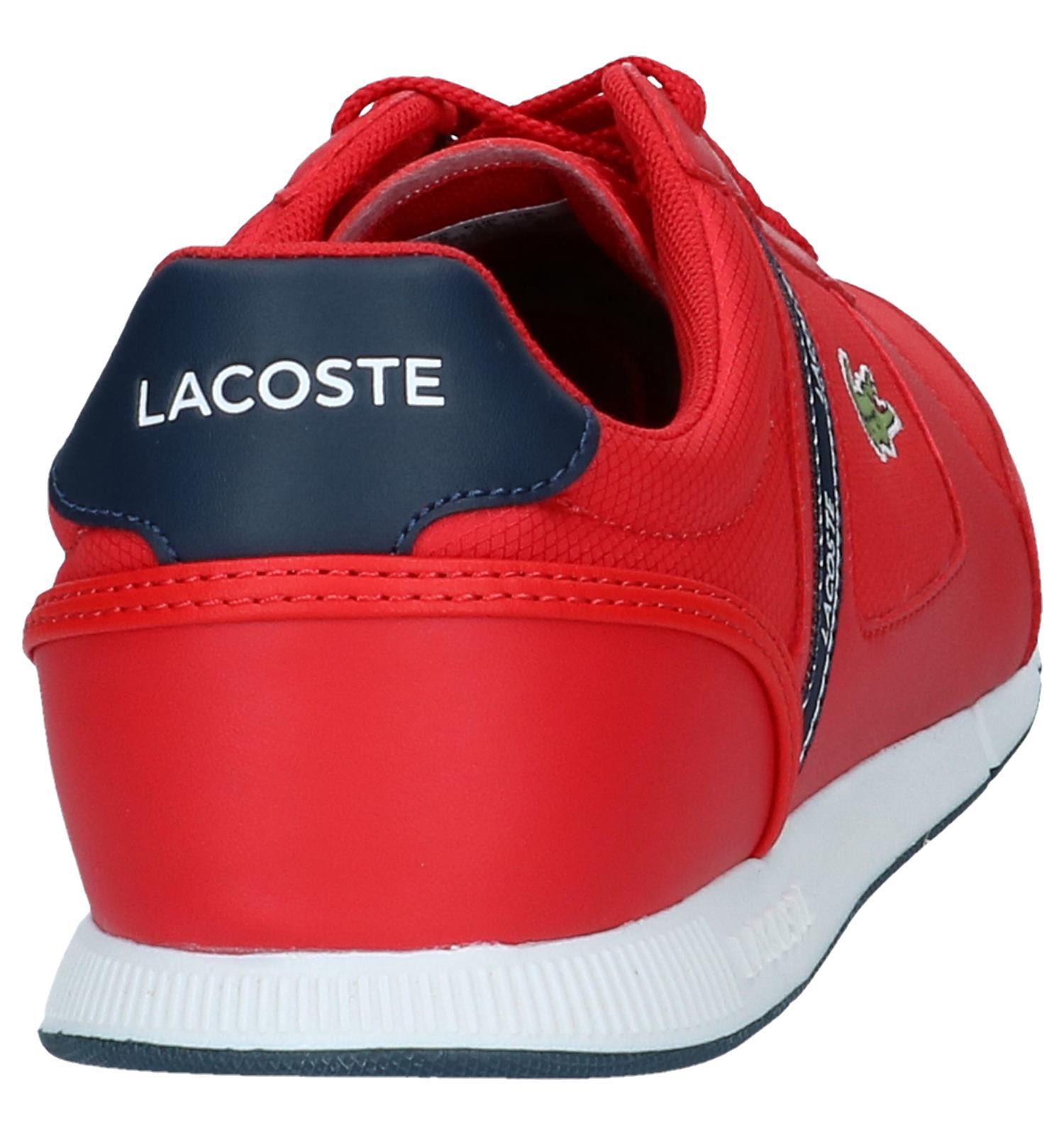 Lacoste Sneakers Lacoste Sneakers Rode Sneakers Menerva Sport Lacoste Menerva Sport Rode Rode tsQrdh