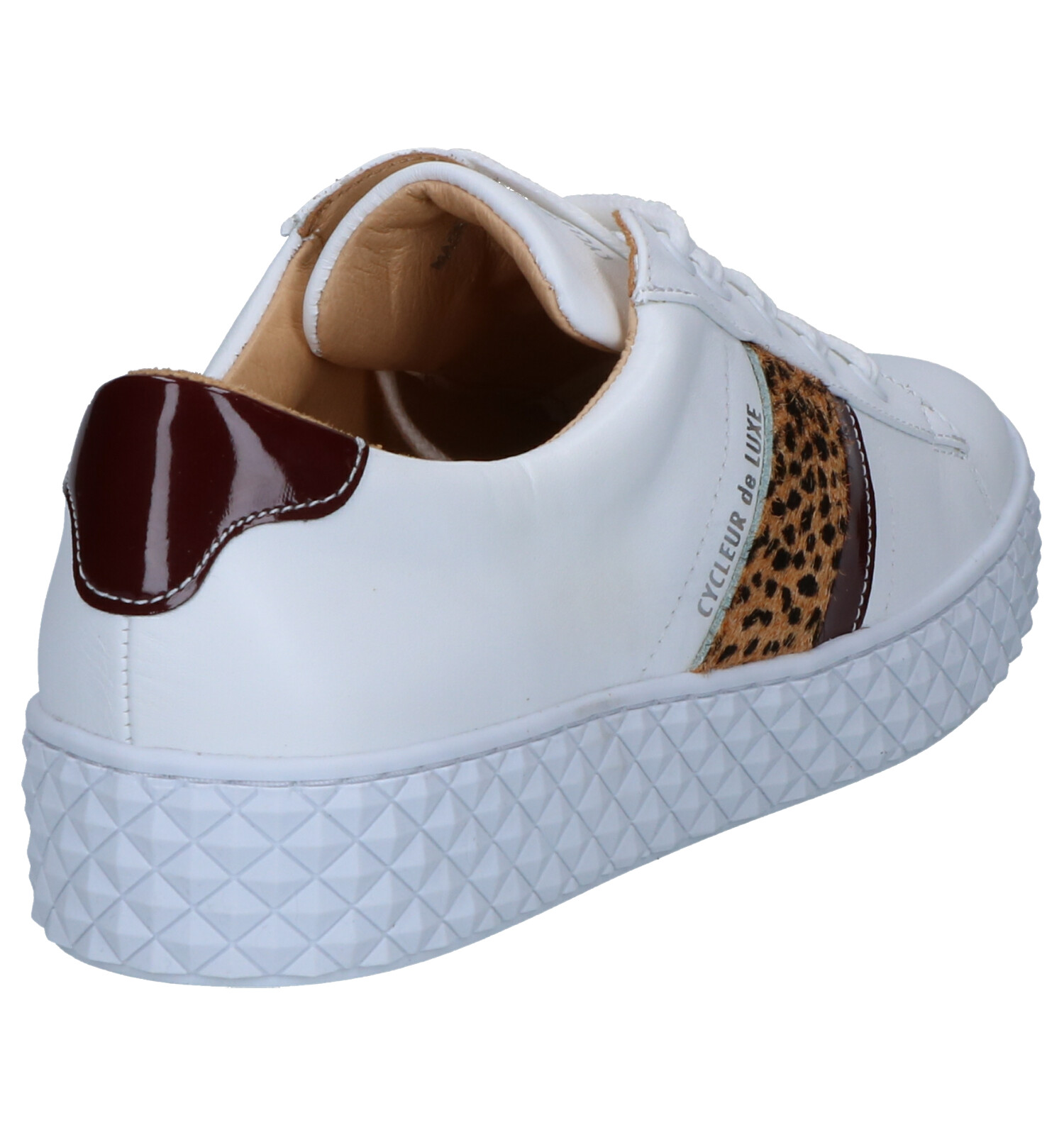Witte Luxe Pica Sneakers Cycleur De mN8nO0vw