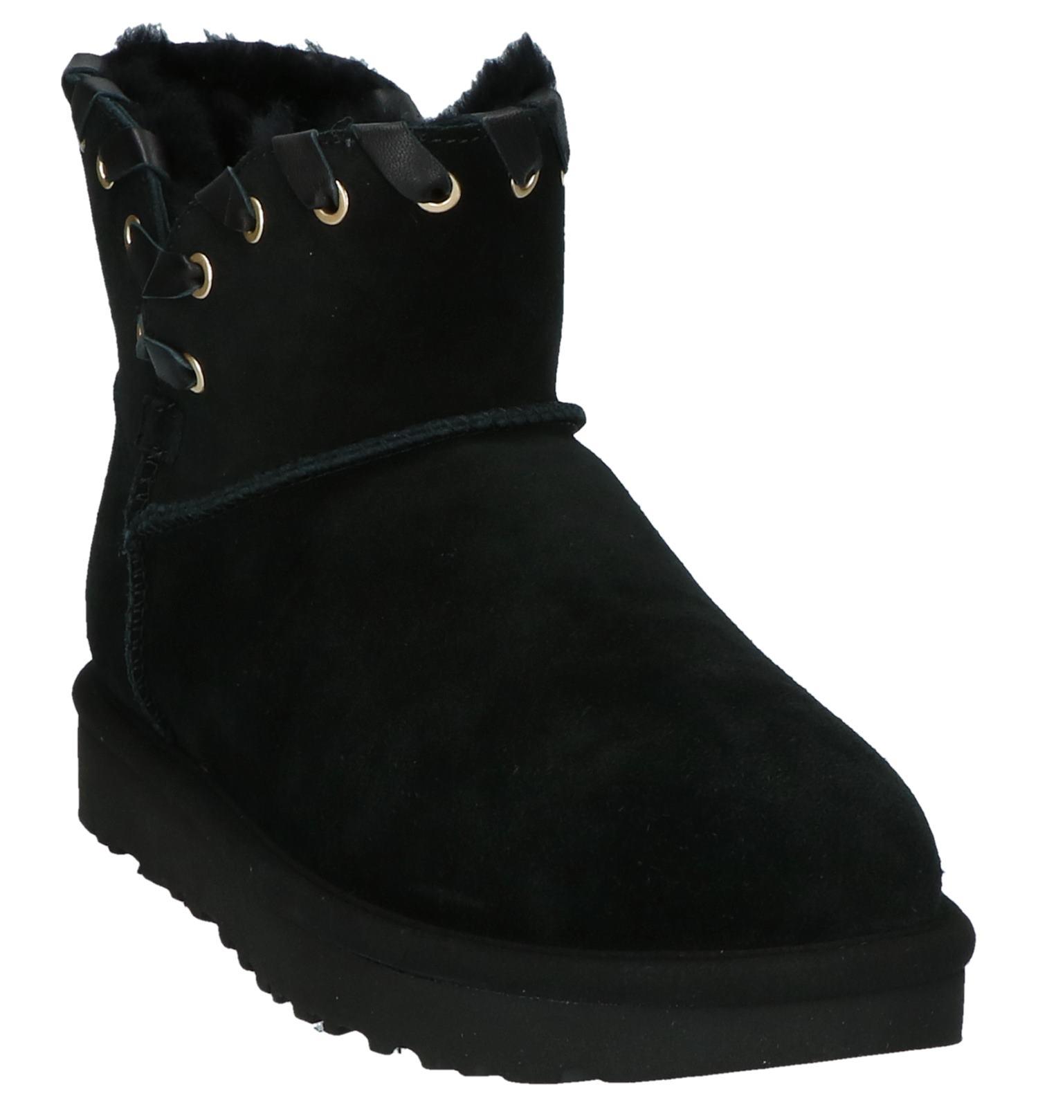 Zwarte Aidah Mini Boots Korte Ugg qjzUpLMVSG