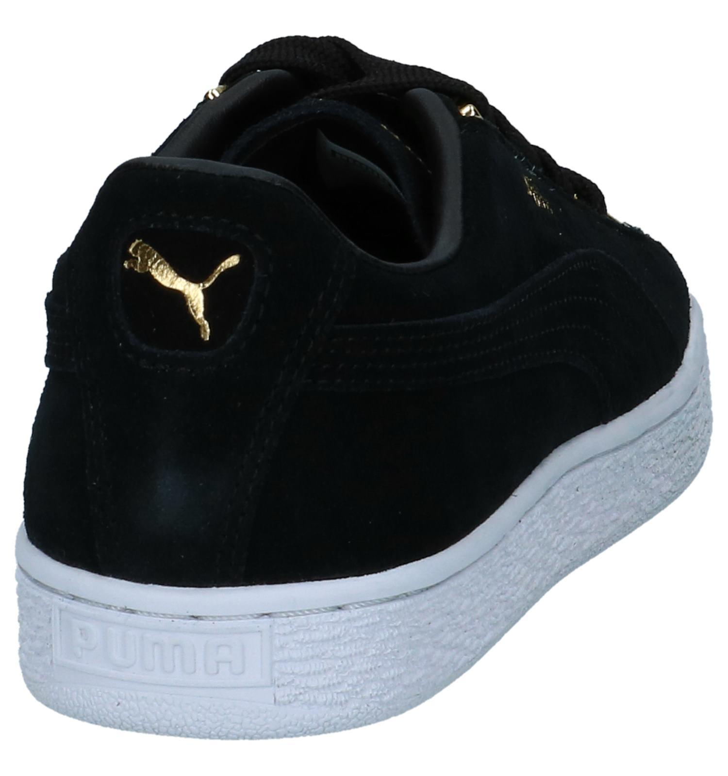 Suede Jewel Sneakers Puma Puma Puma Zwarte Sneakers Jewel Jewel Suede Suede Zwarte lJFKT1c