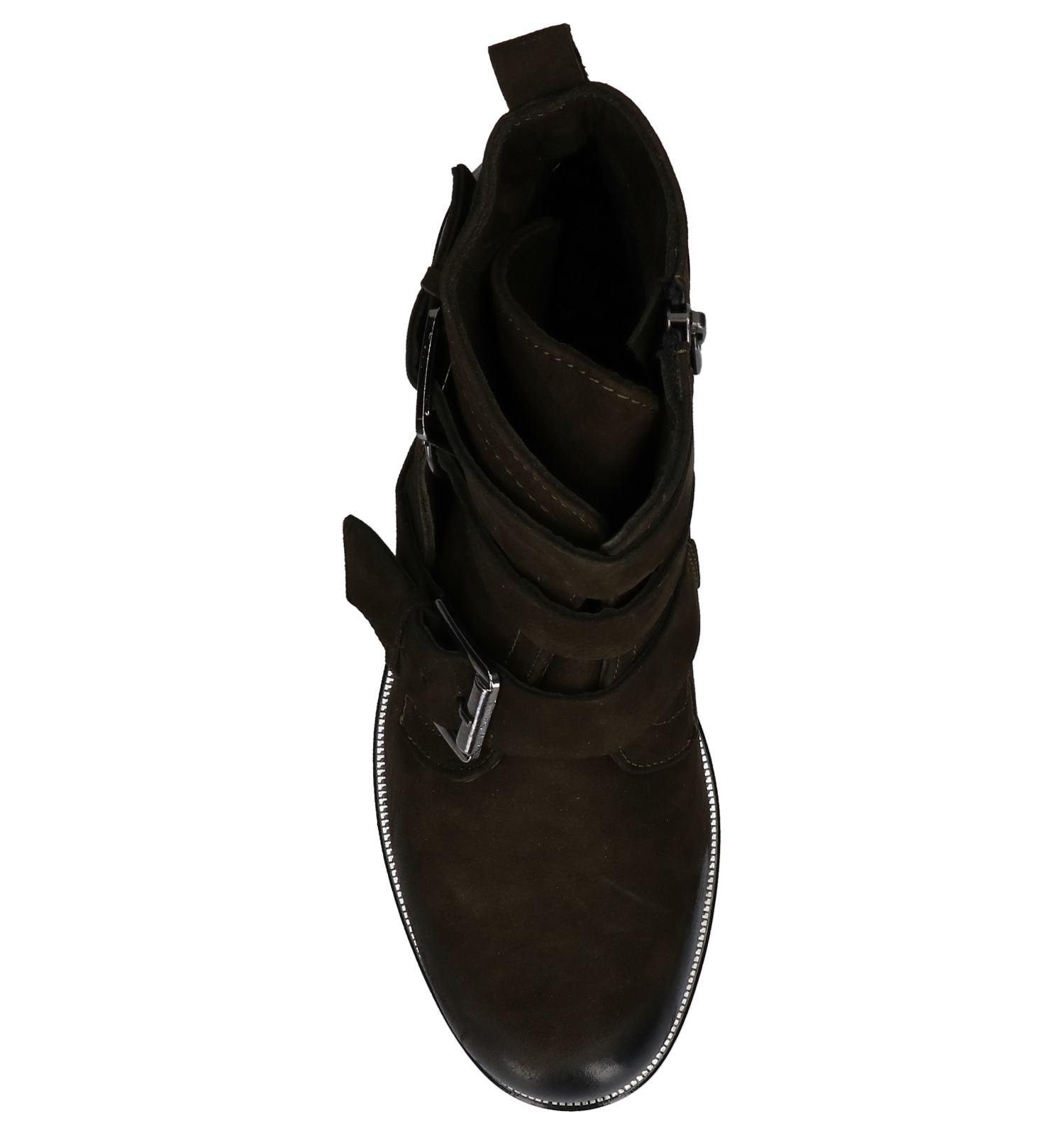 Gespen Boots Met Baboos Kaki Yb6gv7yf