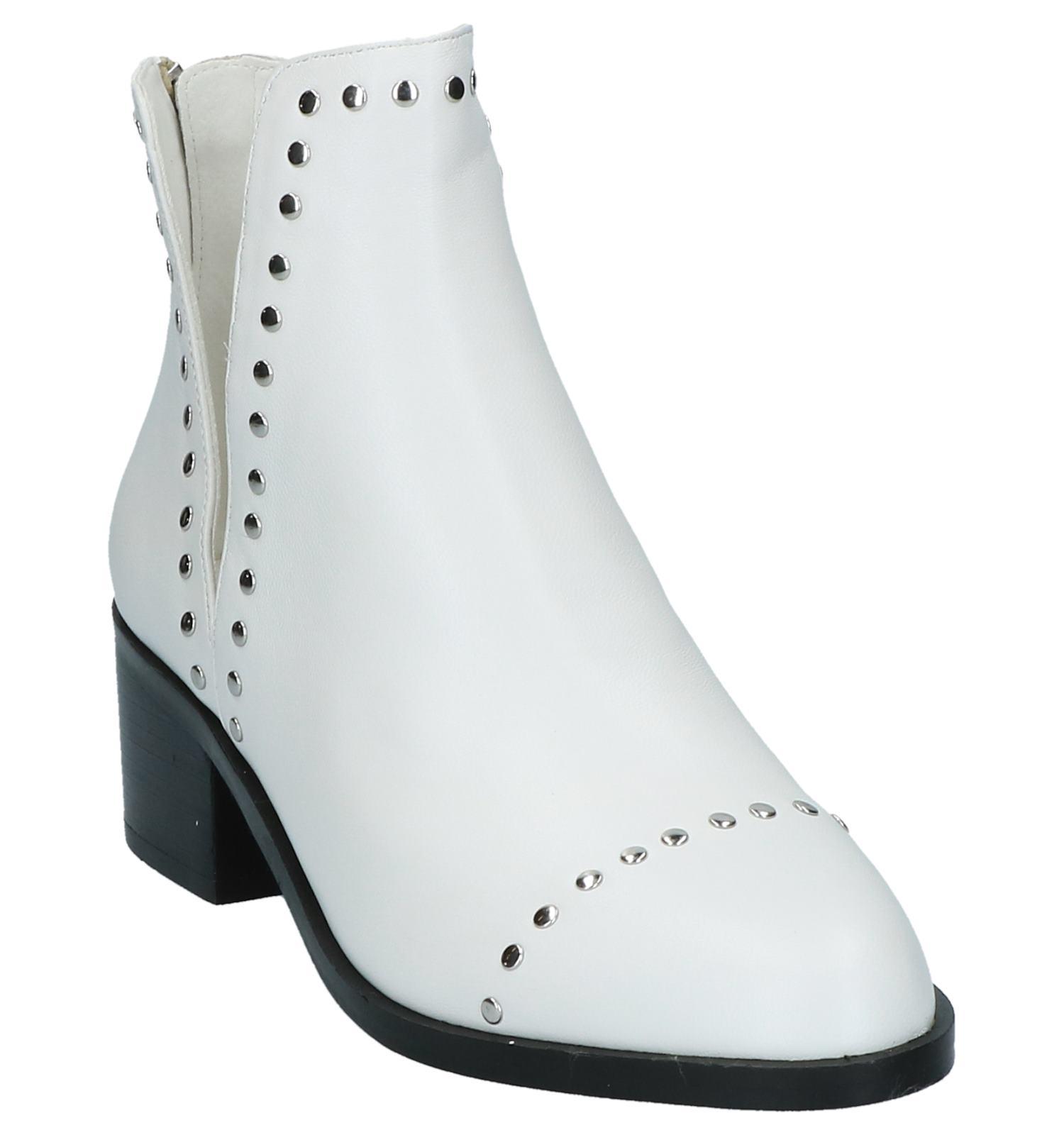 Boots Met Stoere Madden Witte Studs Steve Aj3RLq54