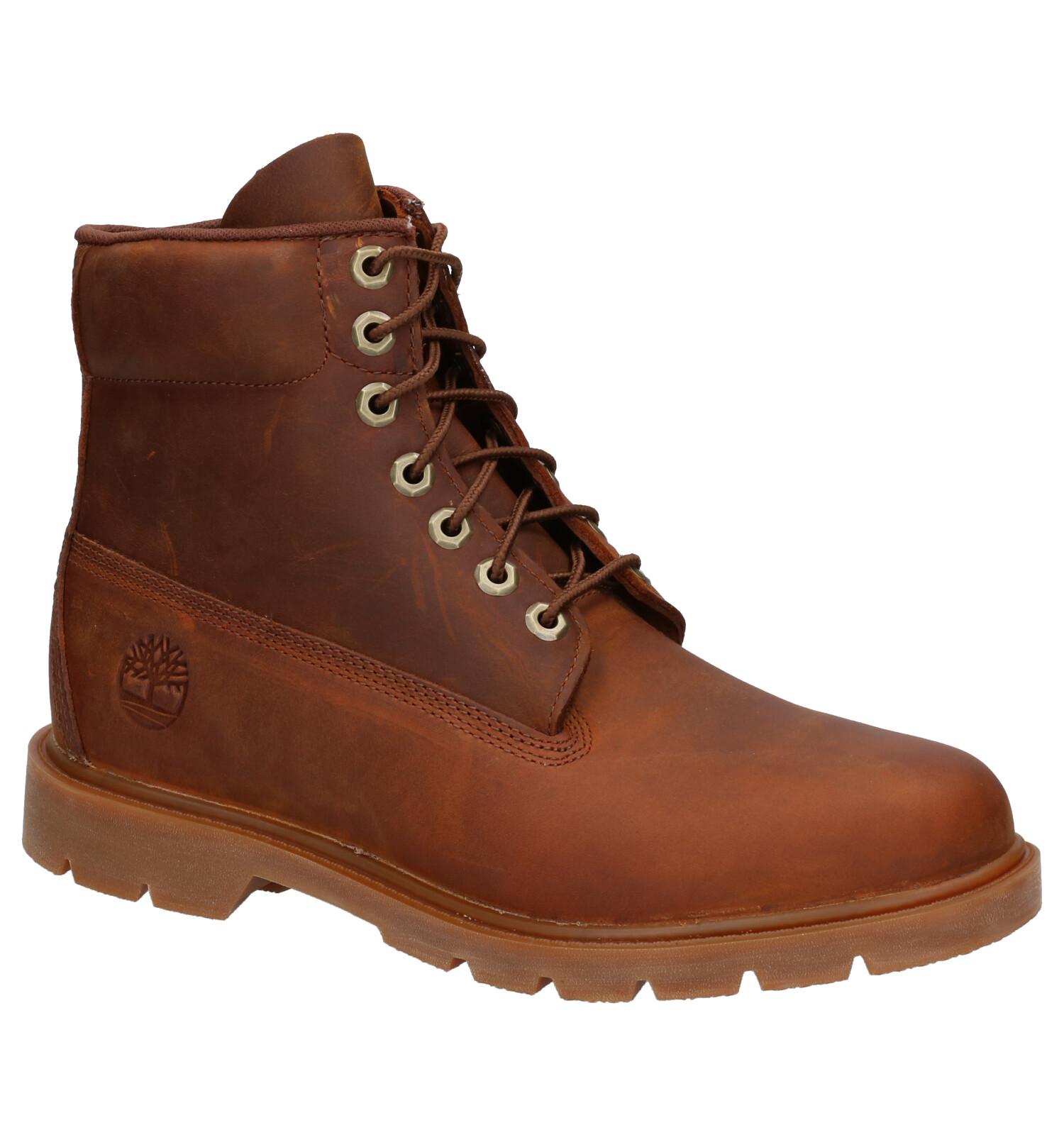 Timberland 6 Inch Basic Bruine Boots | SCHOENENTORFS.NL | Gratis verzend en retour