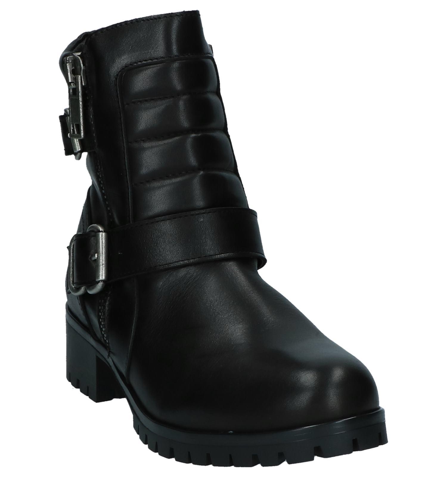 Bullboxer Bullboxer Gespen Zwarte Boots Zwarte Met hsdtQrC