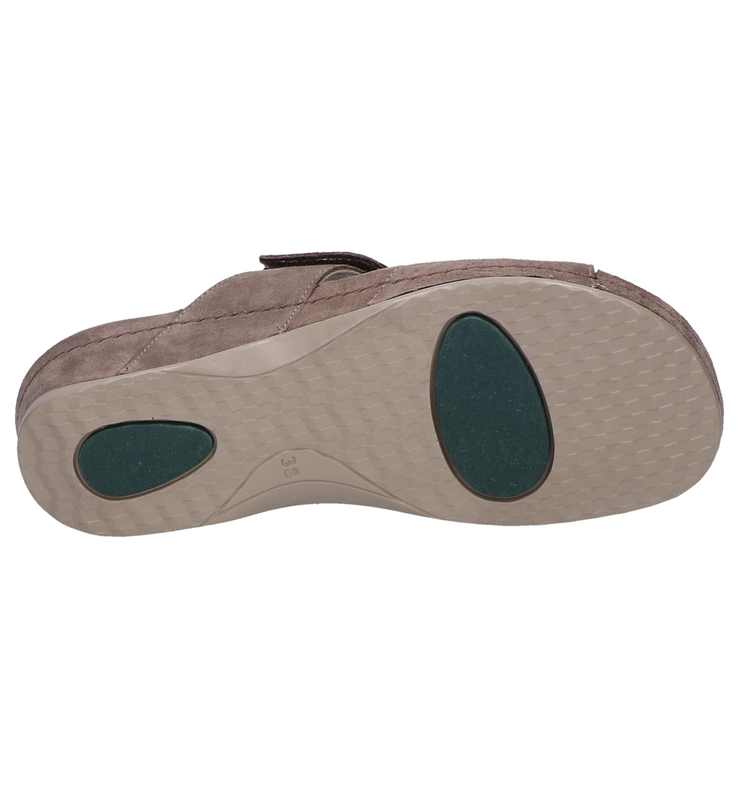 Plus Taupe Comfort Slippers Taupe Slippers WEDH29I
