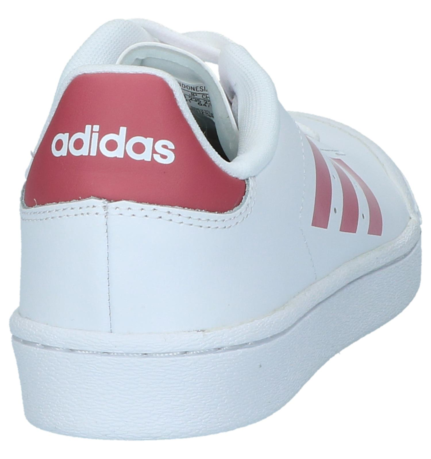 Witte Sneakers Court Adidas Sneakers Adidas Witte ymn0OvNw8