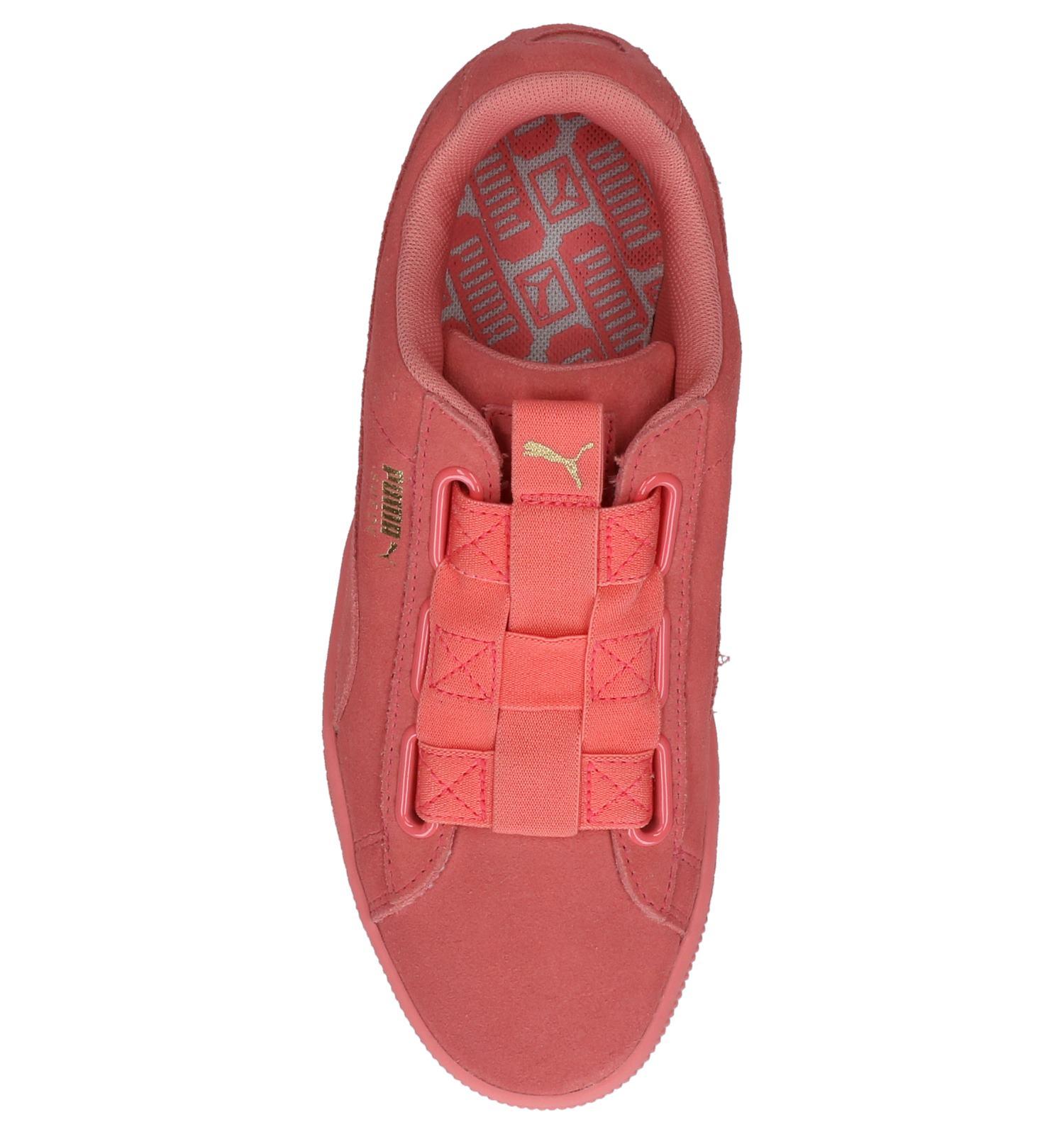 Roze Sneakers Puma Suede Maze | SCHOENENTORFS.NL | Gratis