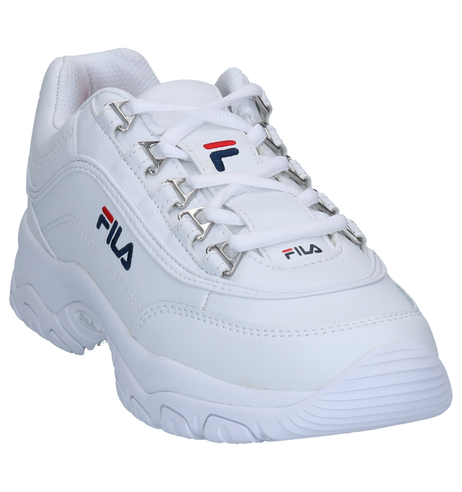 Fila Strada Low Witte Sneakers   SCHOENENTORFS.NL   Gratis