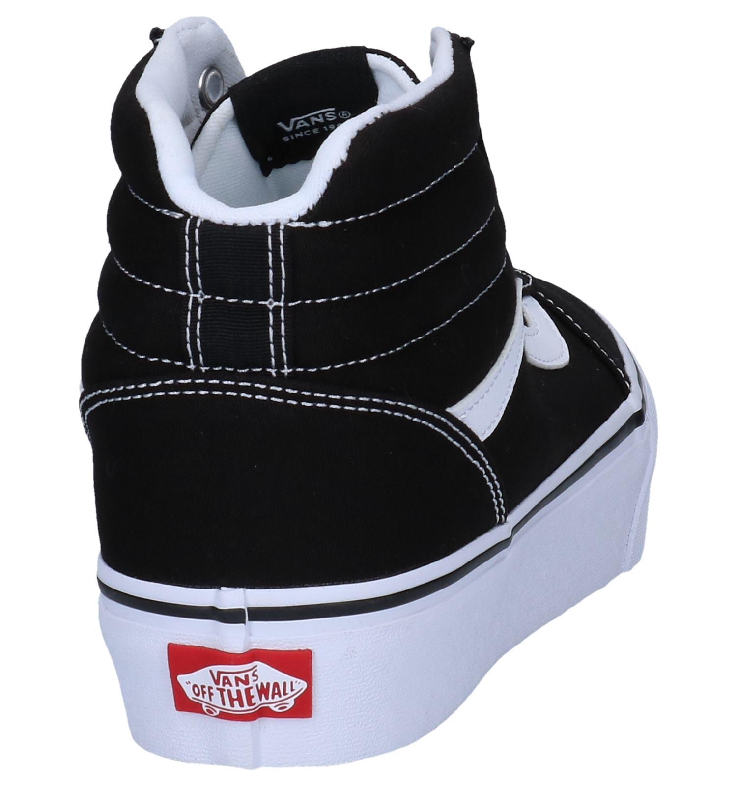 Skateschoenen Vans Ward Hi Zwarte Platform gf6y7b