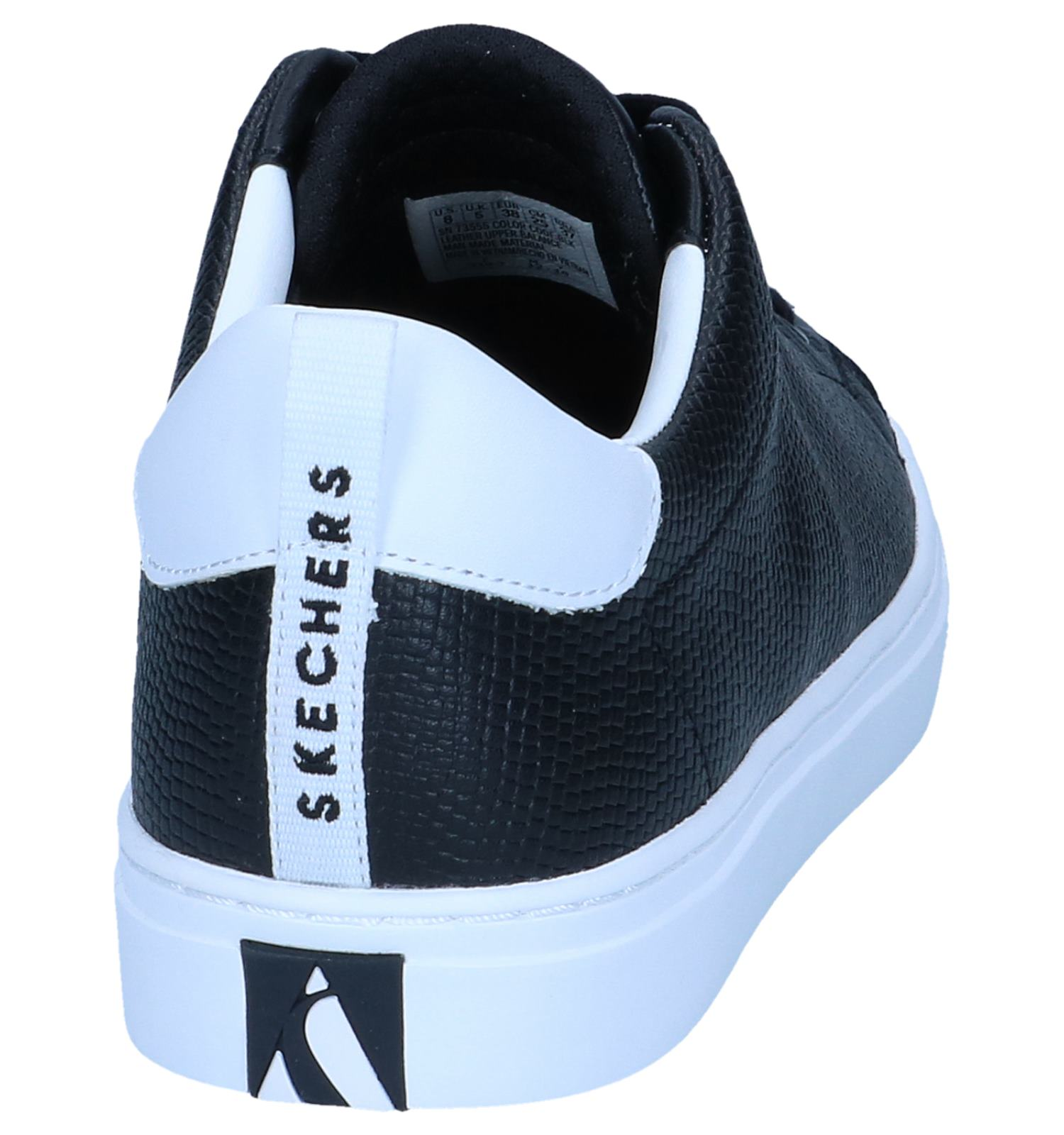 Sneakers Zwarte Side Skechers Street Tegu JclK3TF1
