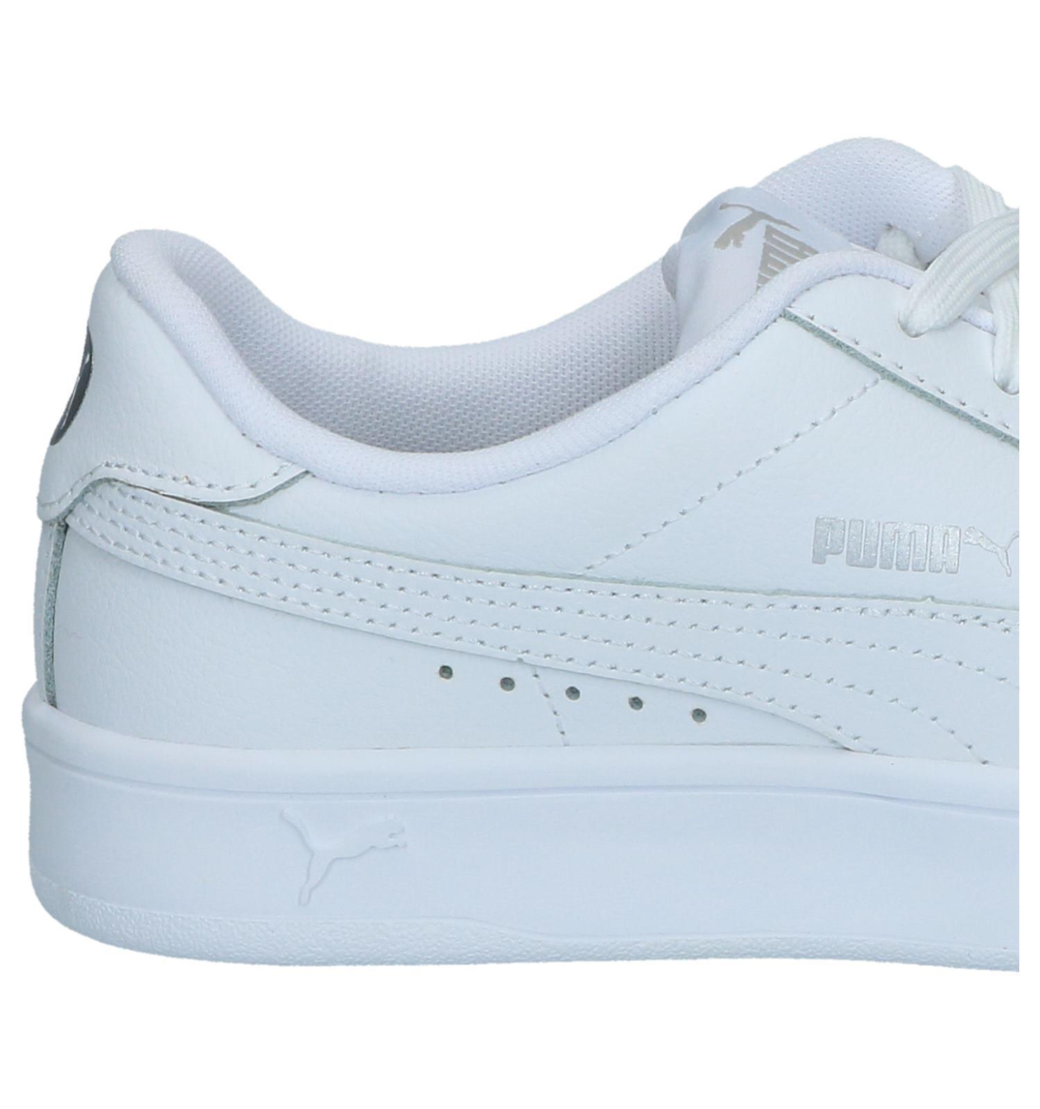 Breaker nl DerbySchoenentorfs Gratis Sneakers Puma Court Witte eWdxBorQC