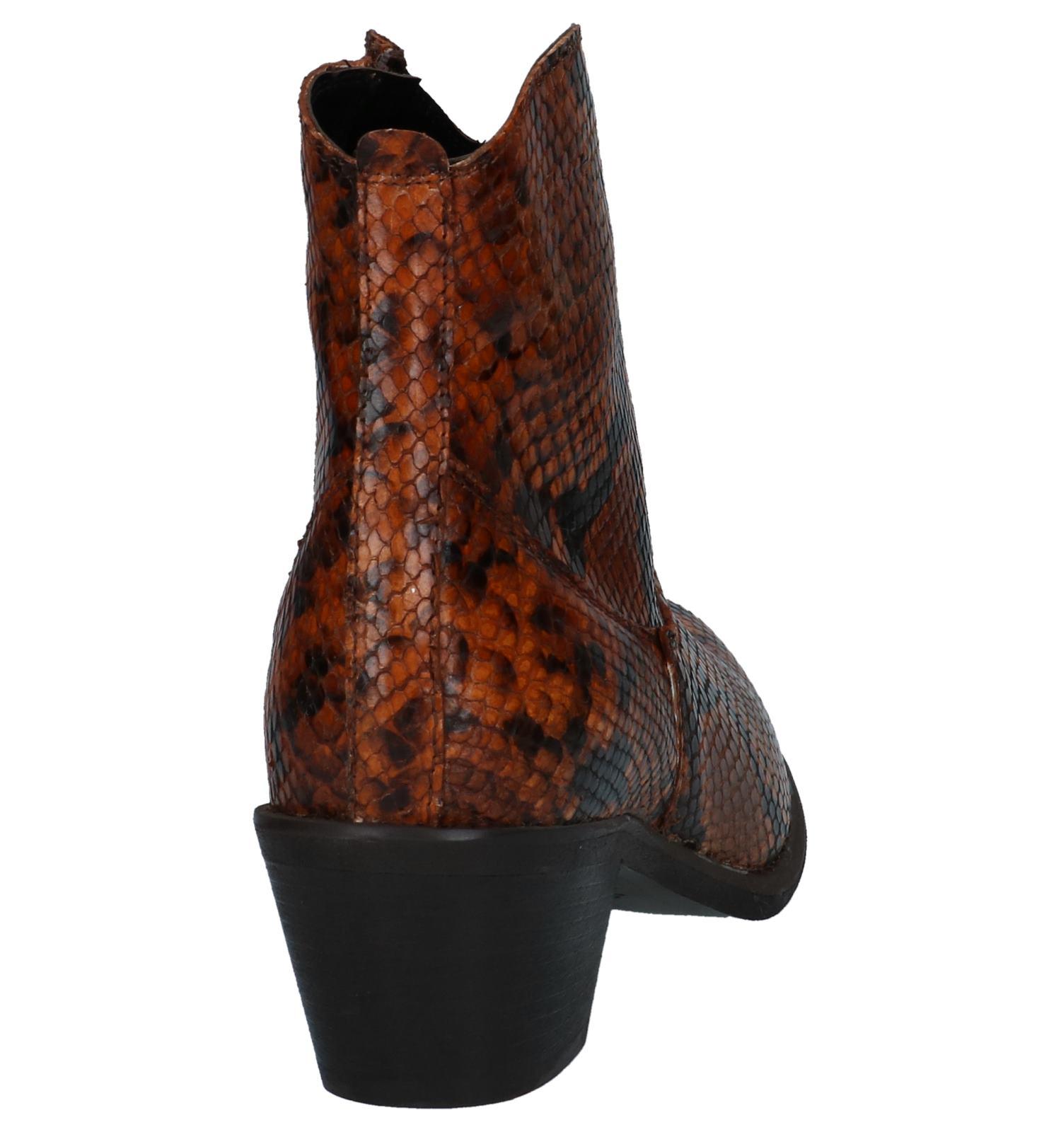 Met Torfs By Limone Slangenprint Boots Via Bruine Western sQhtrxBdC