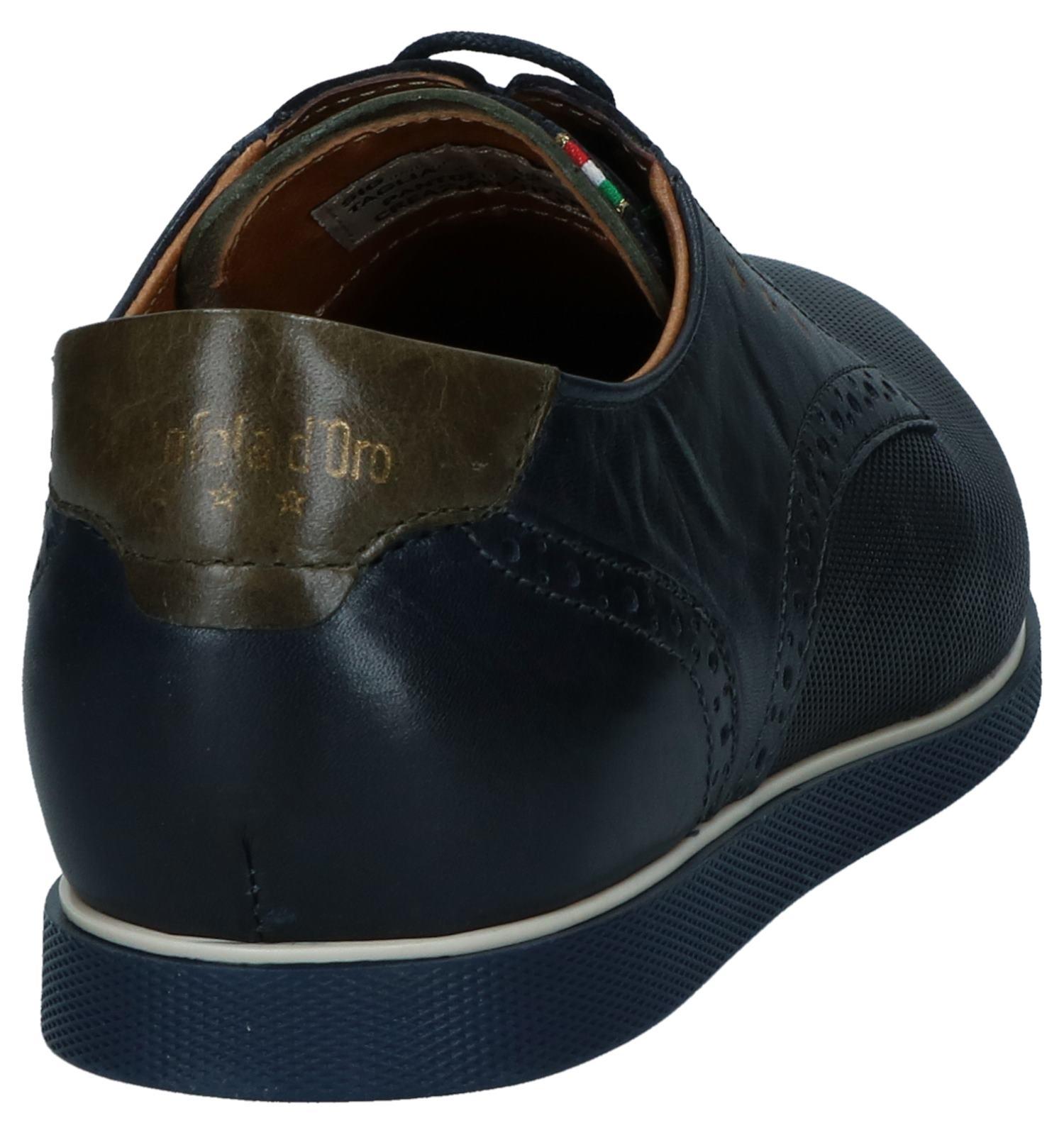 Nette Pantofola Donkerblauwe Donkerblauwe Veterschoenen D'oro T3F1lKJc