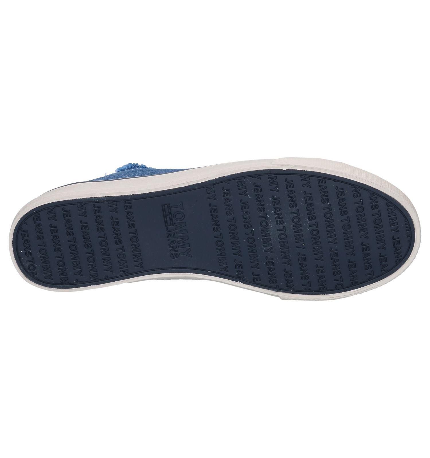 Hilfiger Tommy Lowcut Sneakers Jeans Blauwe lF1cKJ