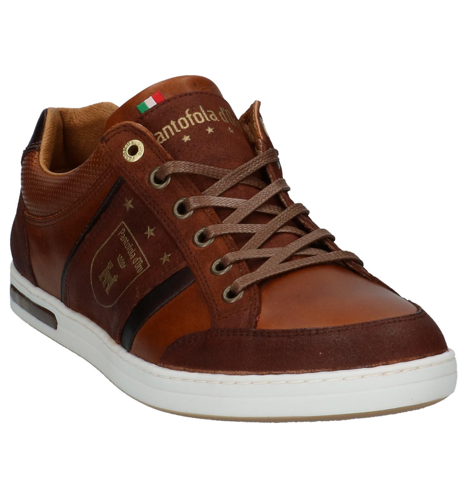 Pantofola Casual D'oro Cognac Veterschoenen m8wyN0Ovn