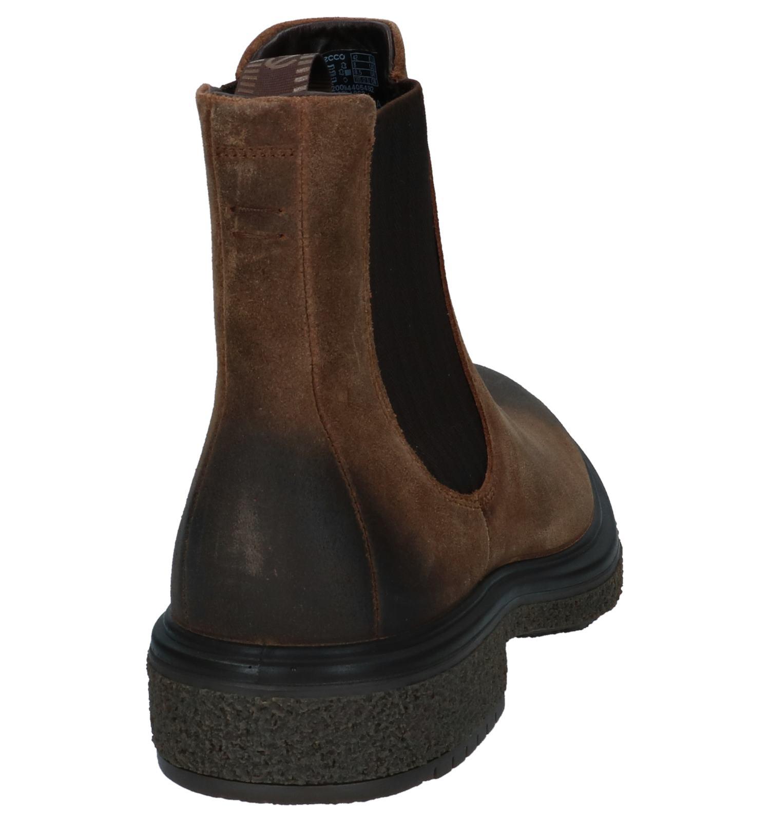 Donker Ecco Chelsea Hybrid Crepetray Boots Bruine 8w0OknP