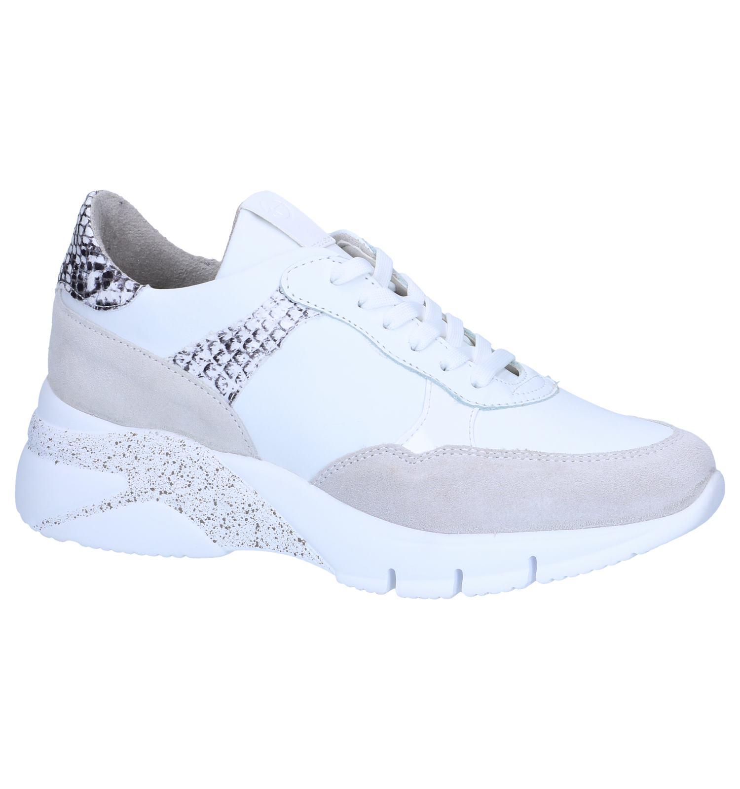 Witte Sneakers Tamaris | SCHOENENTORFS.NL | Gratis verzend en retour