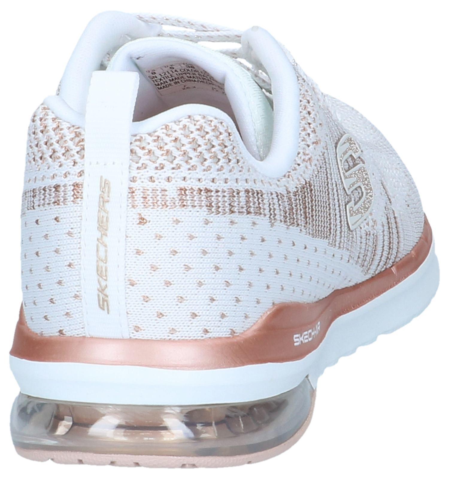 Sneakers Witte Skechers air Infinity Skech 2IY9DHWE