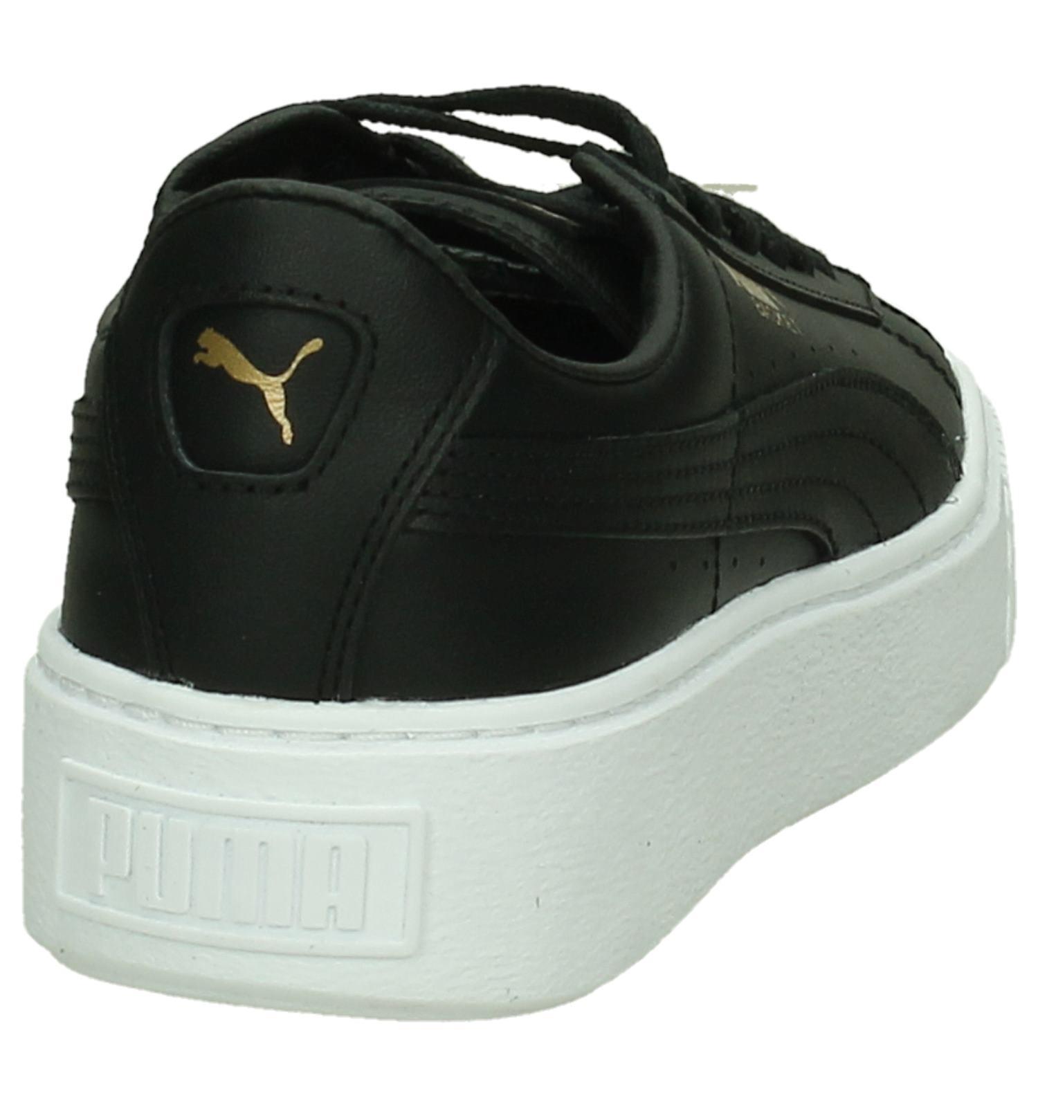Puma Puma Zwart Sneakers Basket Platform Basket dorexBC