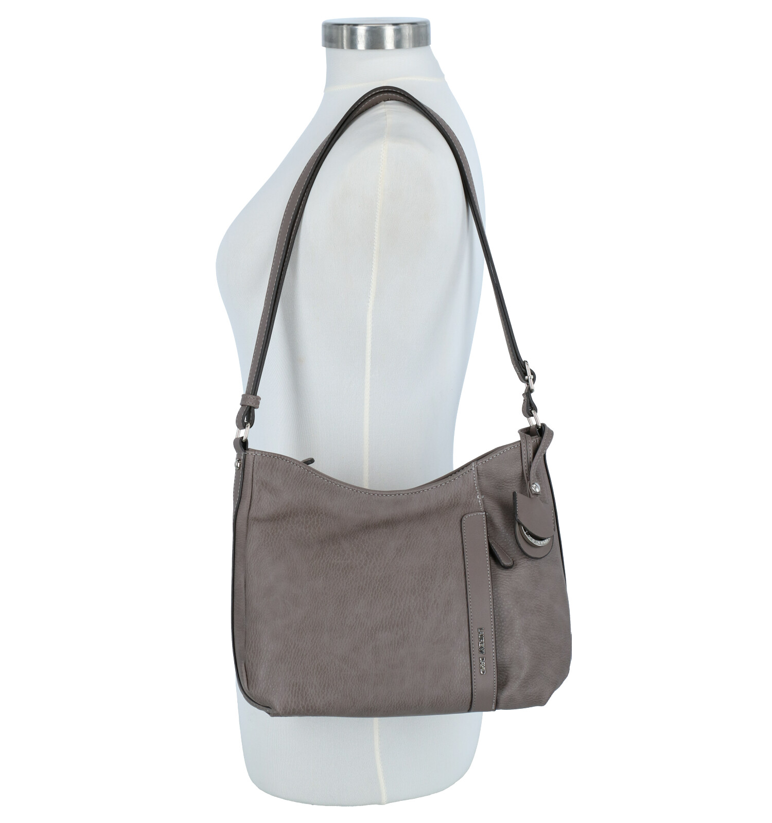 Taupe Laurent David Crossbody Tas Saron pUMqzVS