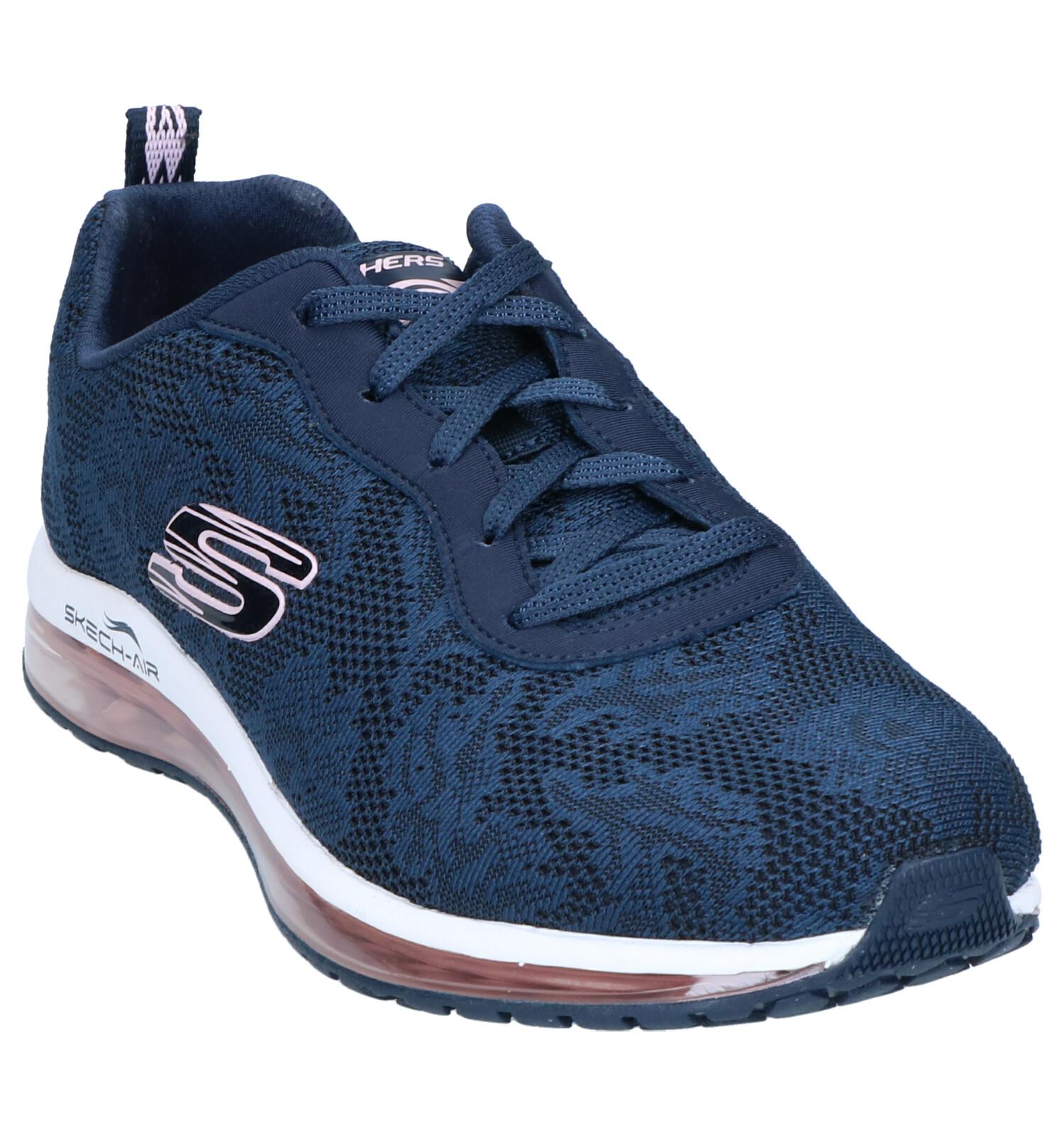 Skechers air Skech Skechers Skech air Donkerblauwe Sneakers O80wPnk