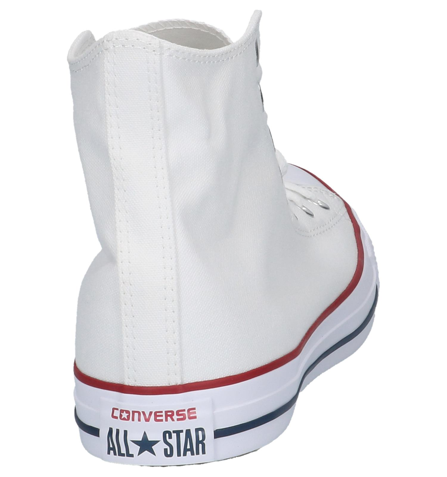 Converse Taylor Chuck Hoge As Witte Sneakers 4Lc5qA3Rj