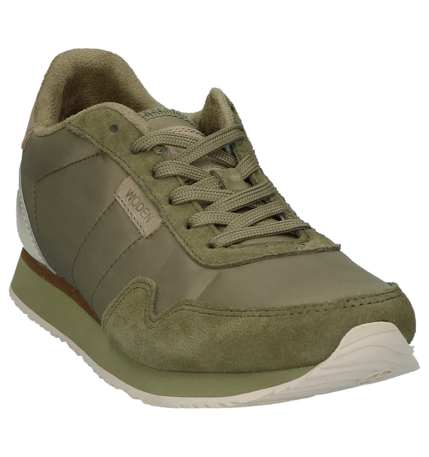 Ii Kaki Nora Woden Sneakers Kaki Woden qUMSzpGV