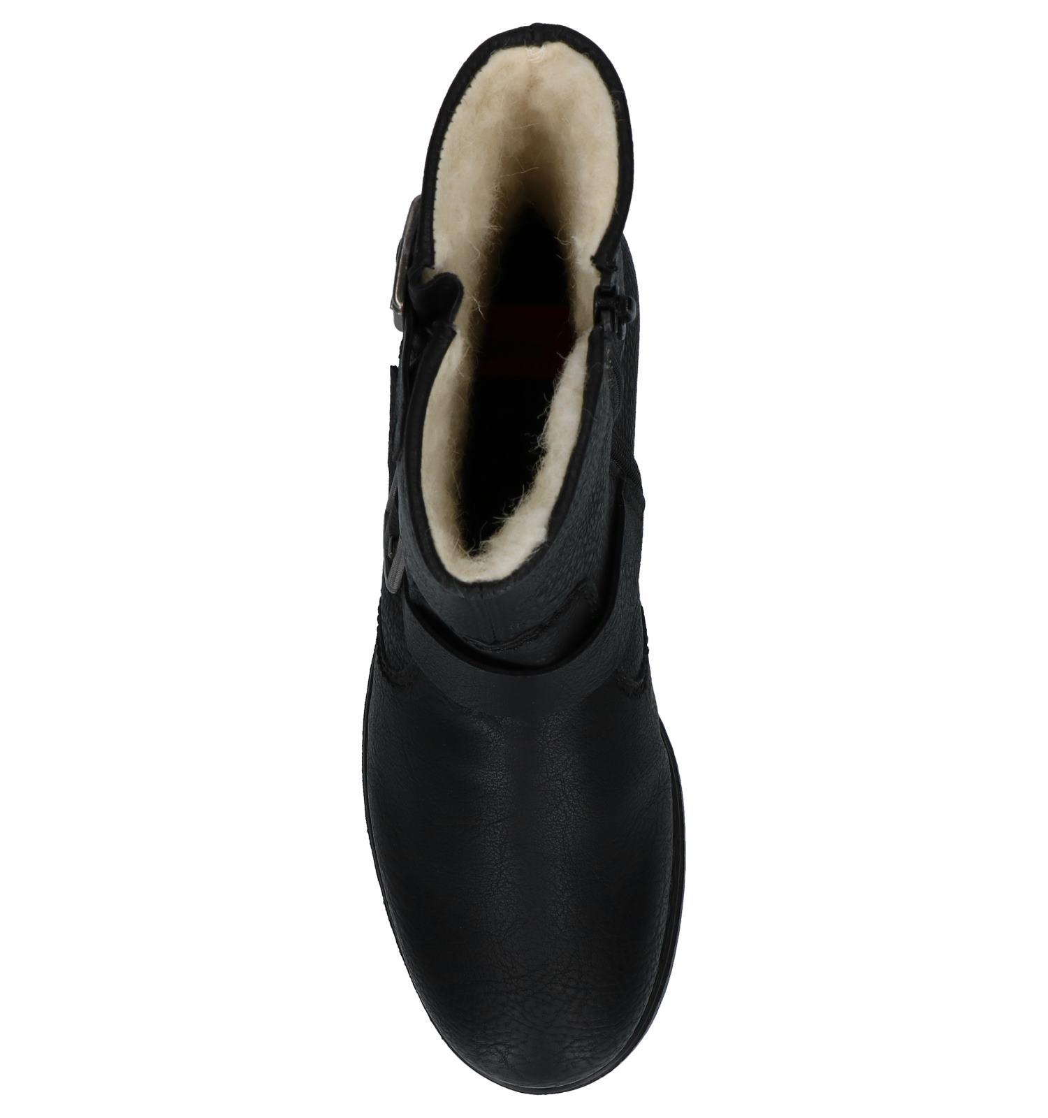 Gespen Boots Rieker Met Boots Zwarte Rieker Zwarte htCsQrdx