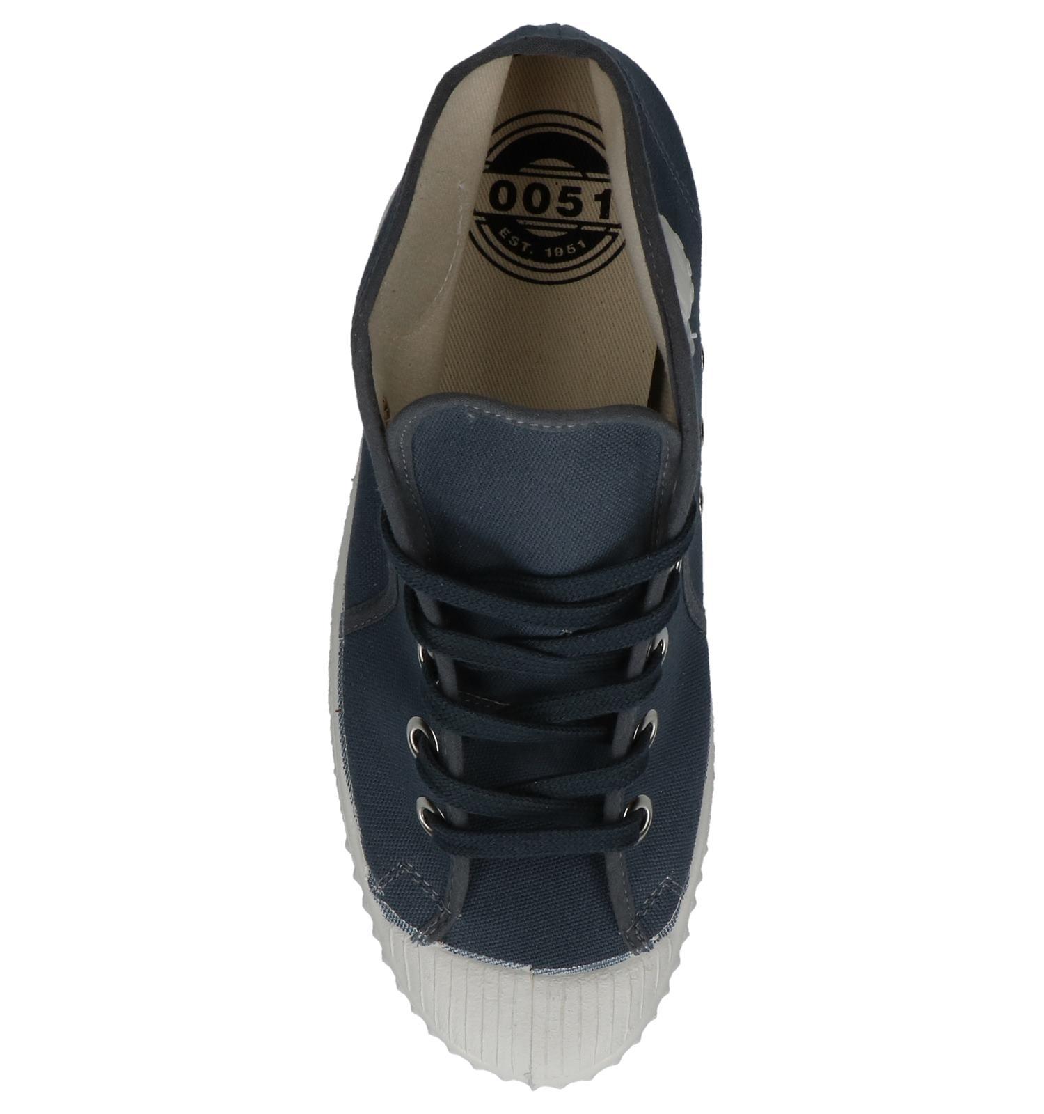 Donker Barvy Sneakers Grijze 0051 Hoge CoQxWEdBer