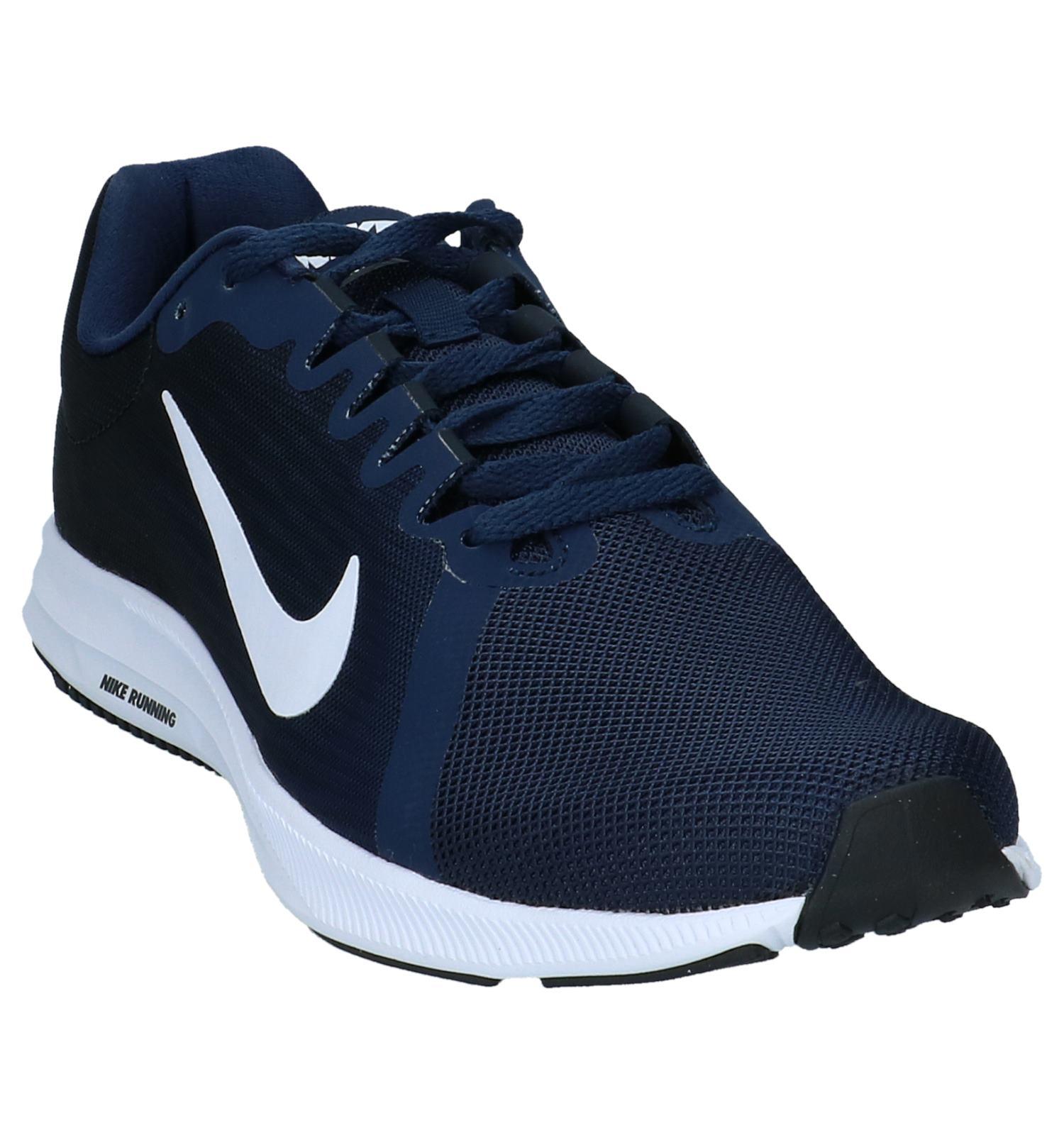 Sportieve 8 Lage Sneakers Downshifter Nike Donkerblauwe nwX80OkNP