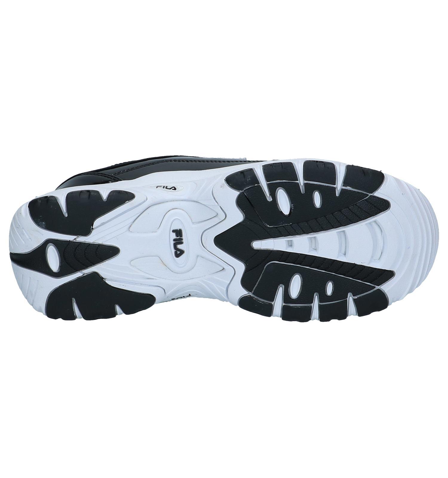 Fila Strada Zwarte Lage Sneakers | SCHOENENTORFS.NL | Gratis