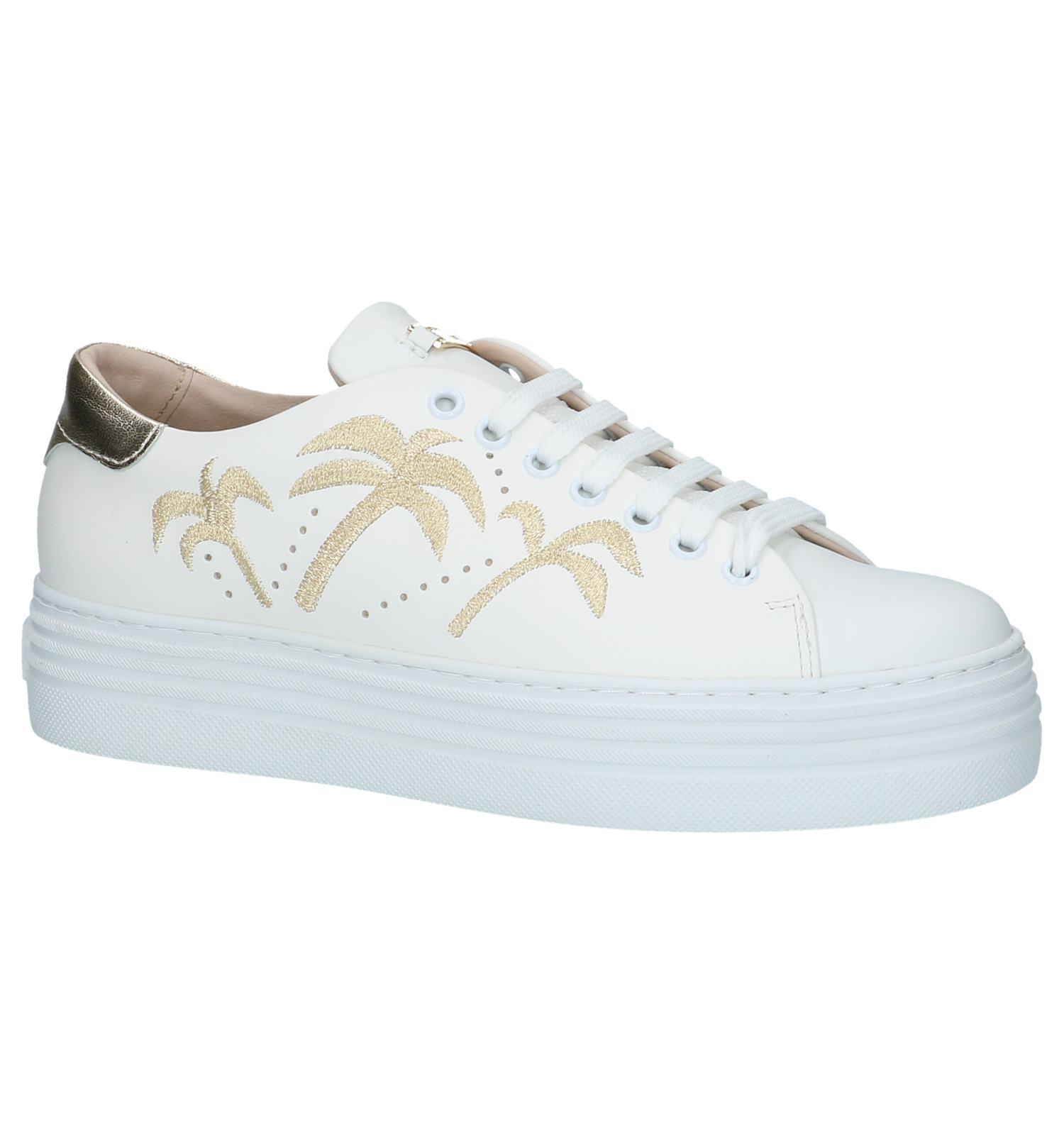 Geklede Sneakers Tosca Blu Wit | SCHOENENTORFS.NL | Gratis verzend en retour