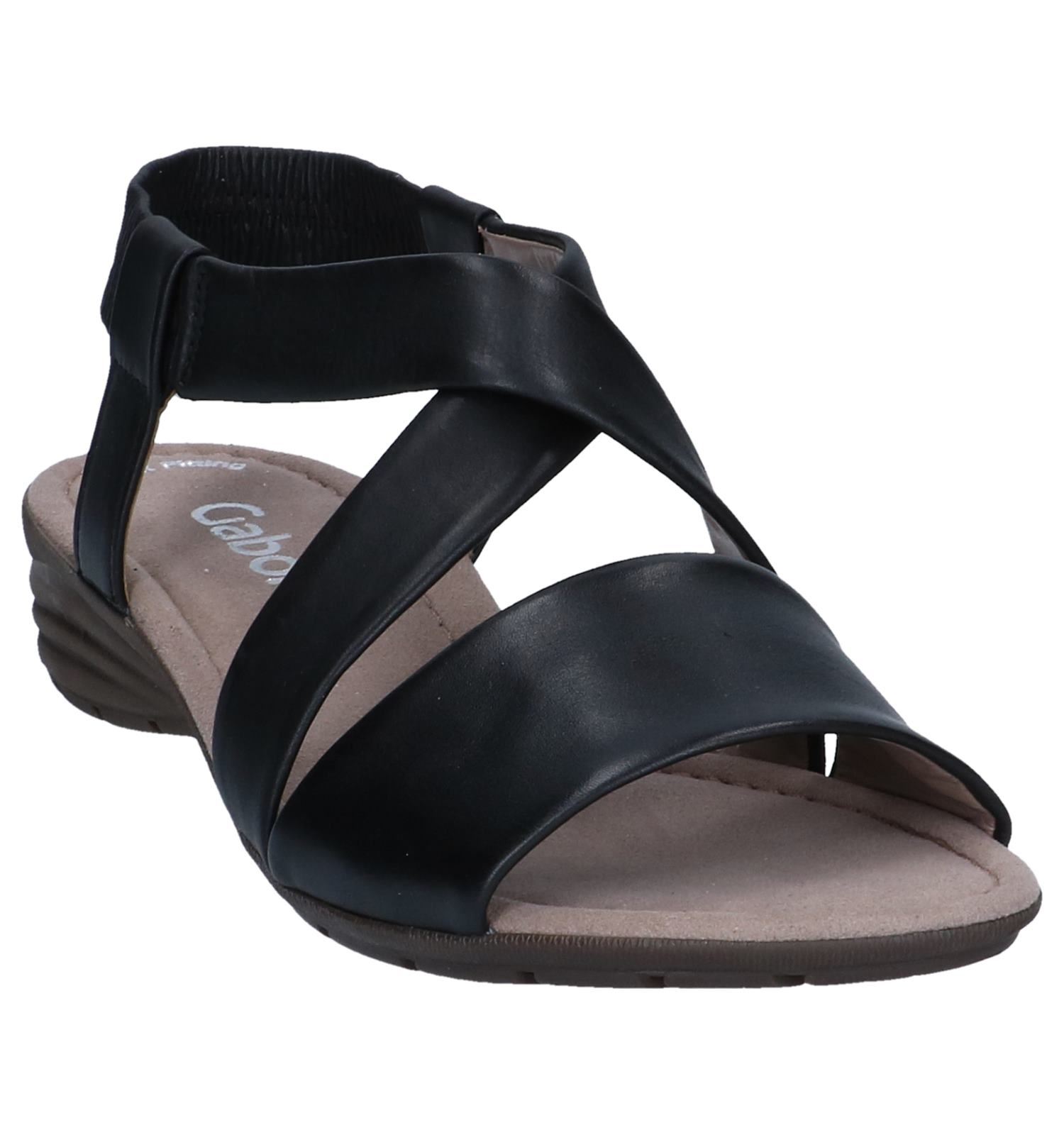 Best Zwarte Gabor Best Sandalen Zwarte Fitting Sandalen Gabor Fitting mOPn0yvN8w