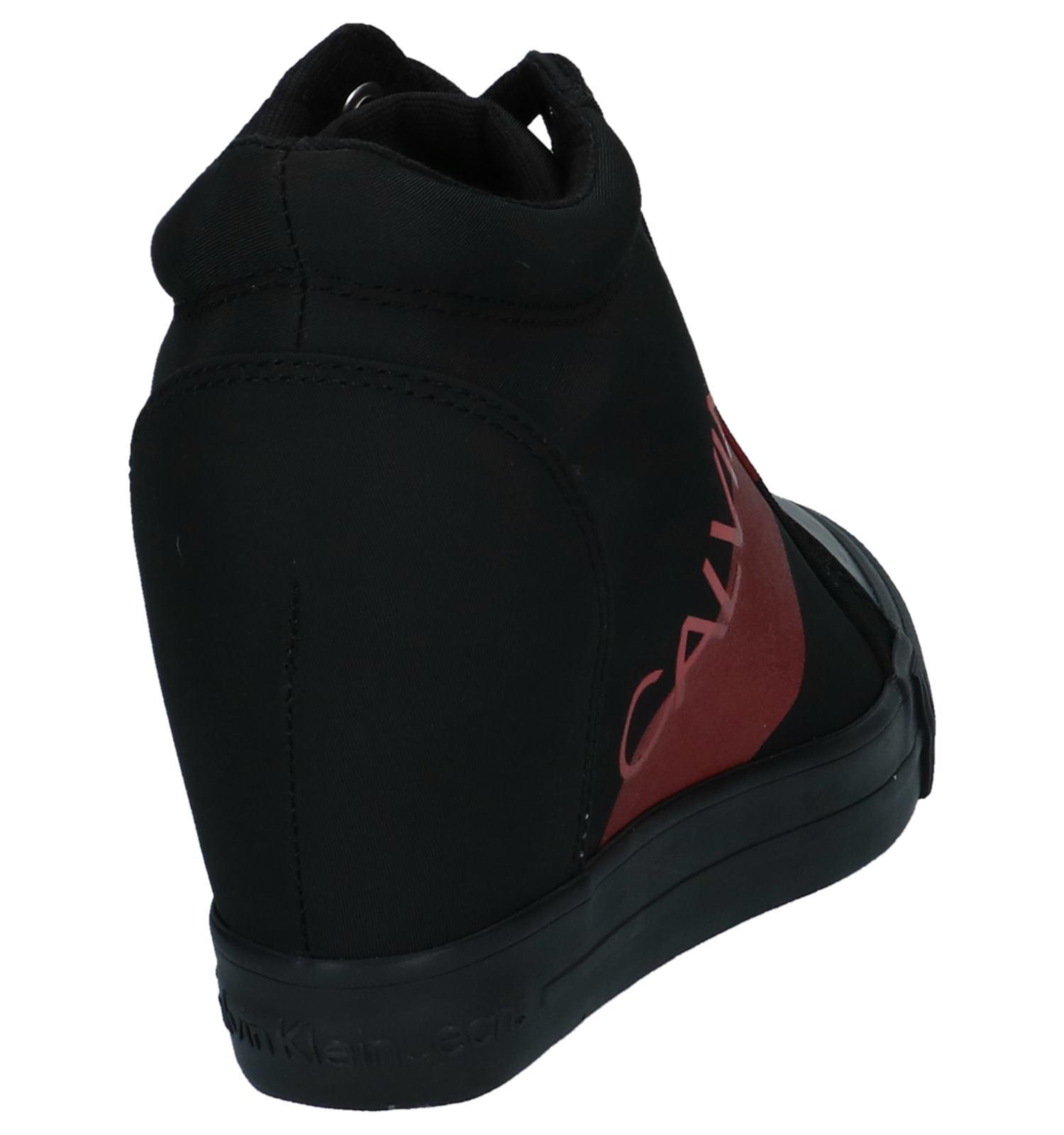 Sleehak Klein Roxanna Met Zwarte Sneakers Verborgen Calvin QdCoxBErWe
