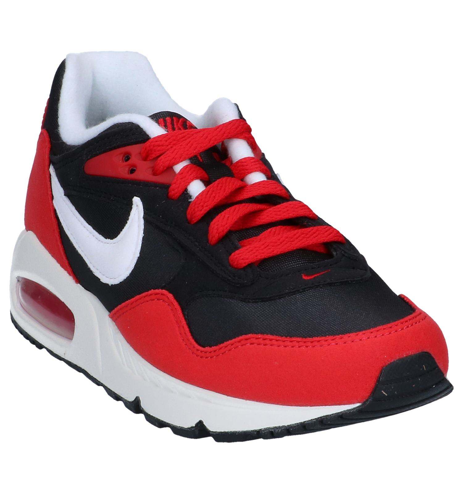 Zwart Nike rode Sneakers Air Correlate Max wOXiPkuTZ